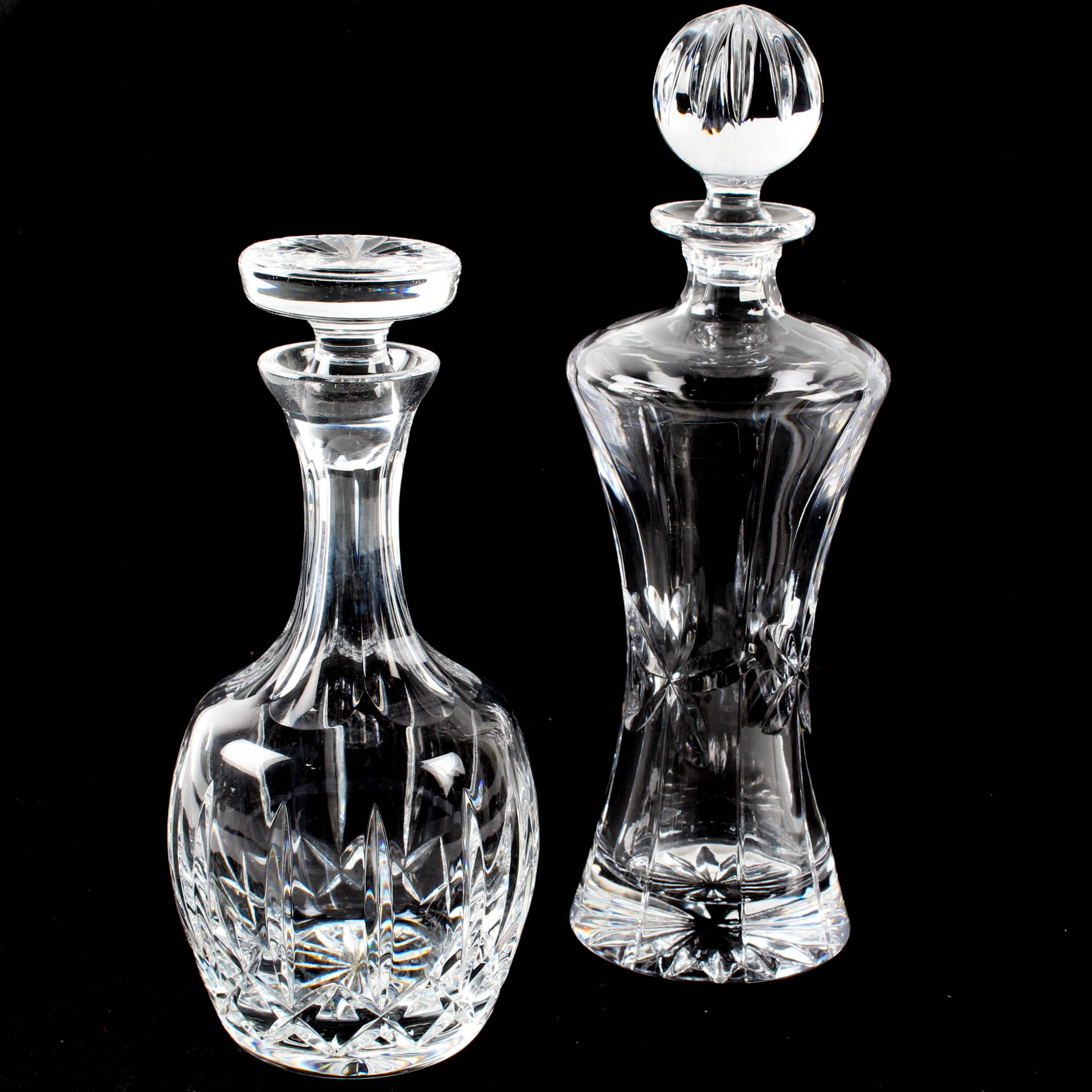 Atlantis and Towle Crystal Decanters