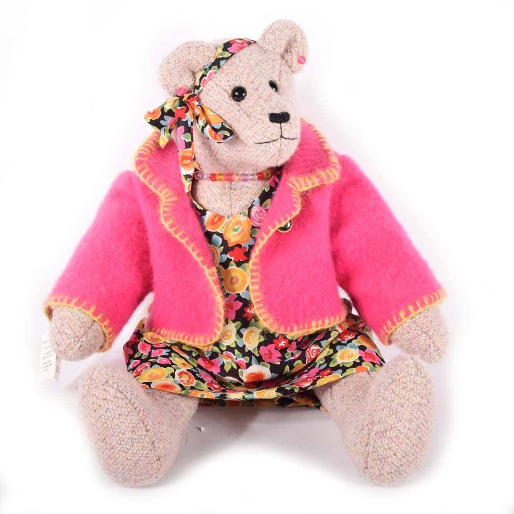 Chris Lang Handmade Bear Doll