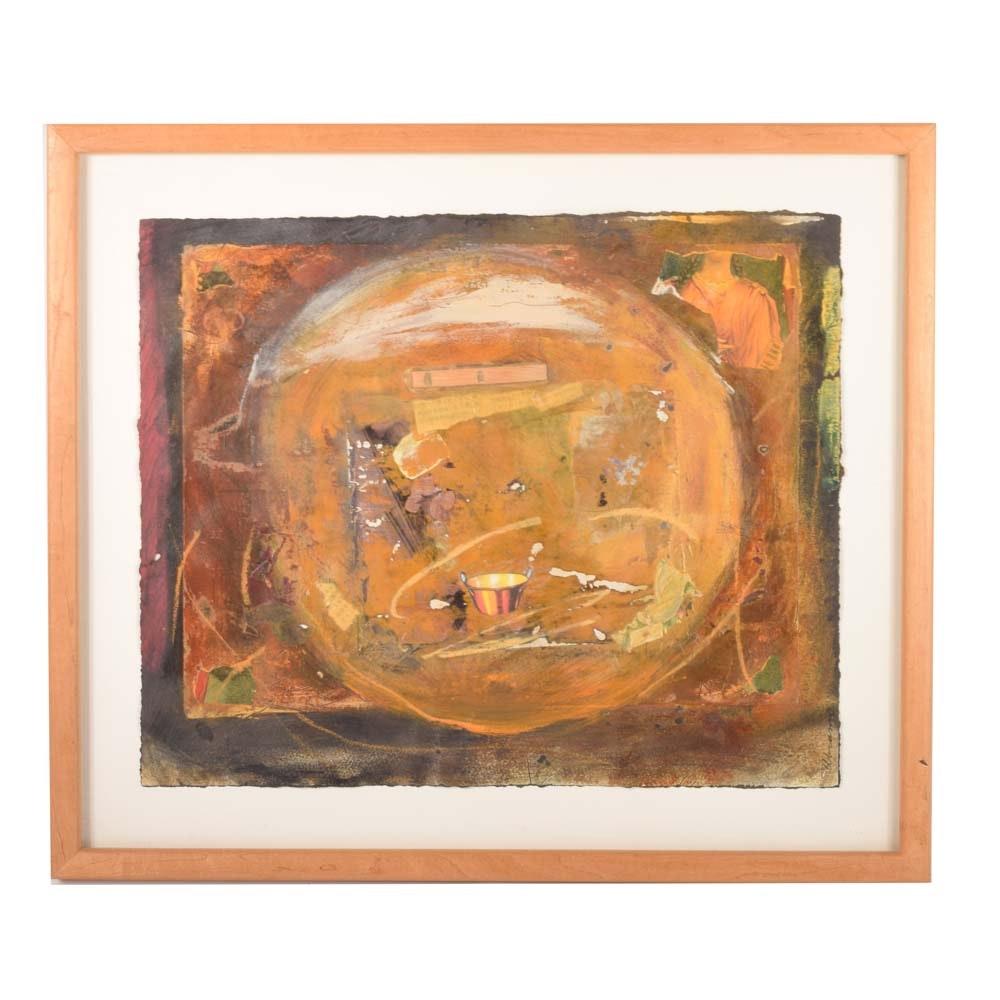 Abrams Mixed Media Abstract Painting