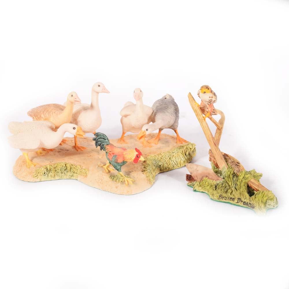 Vintage Lowell Davis Bird Figurines