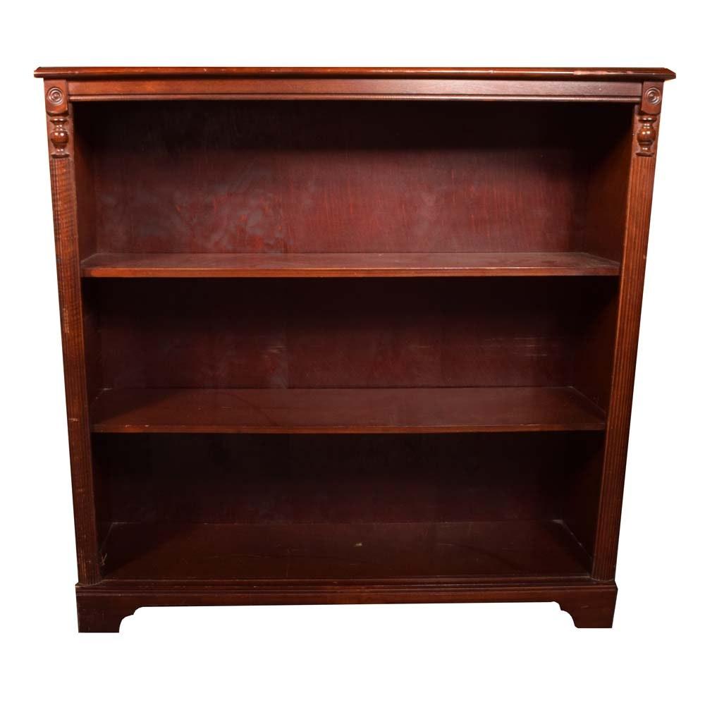 Mahogany Finish Bookcase