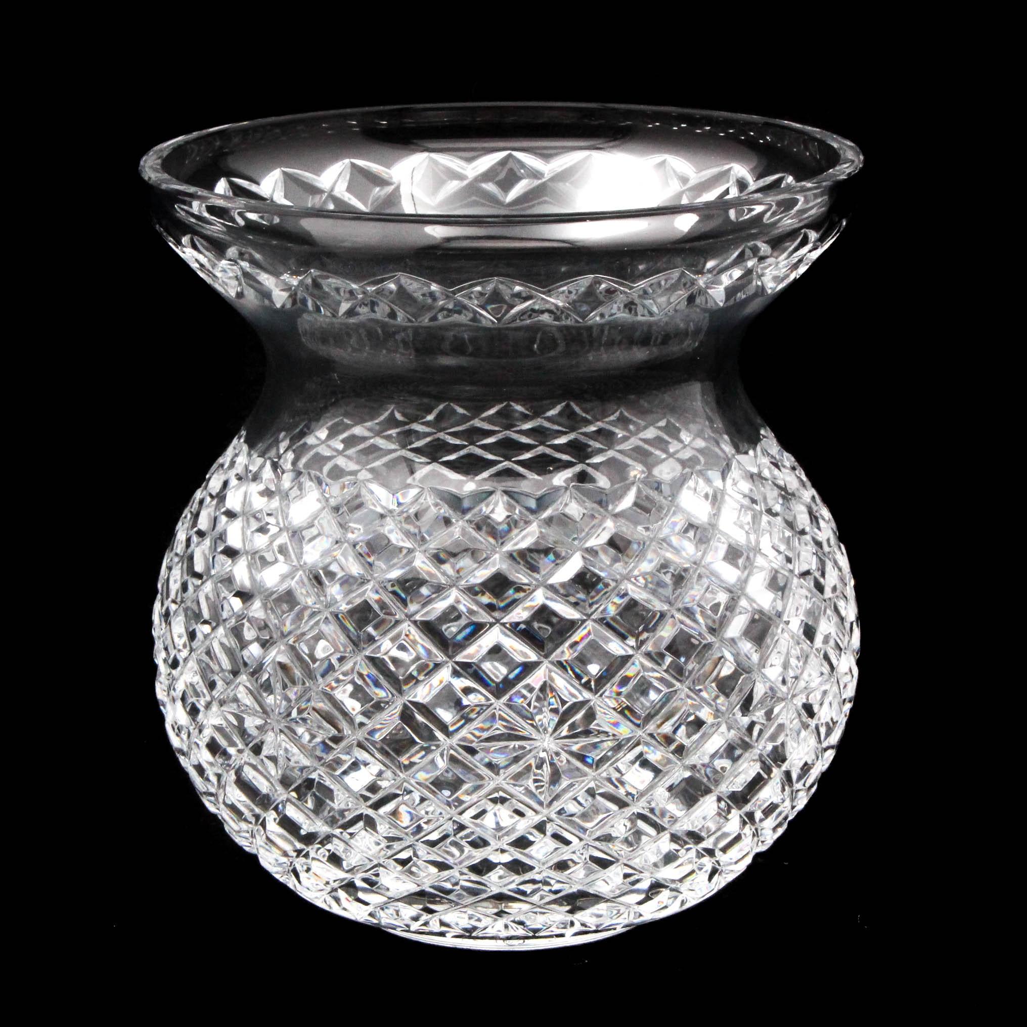Waterford Crystal Centerpiece Vase