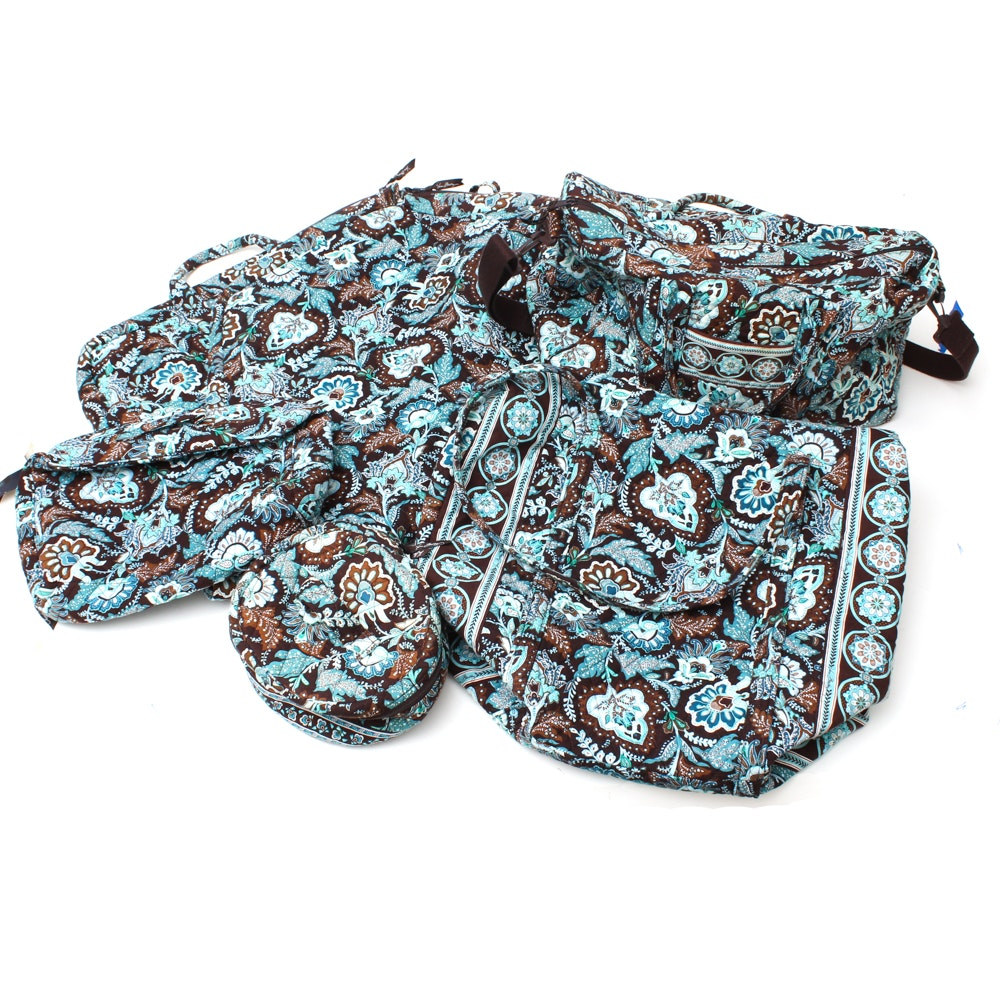 "Vera Bradley ""Java Blue"" Travel Bags"