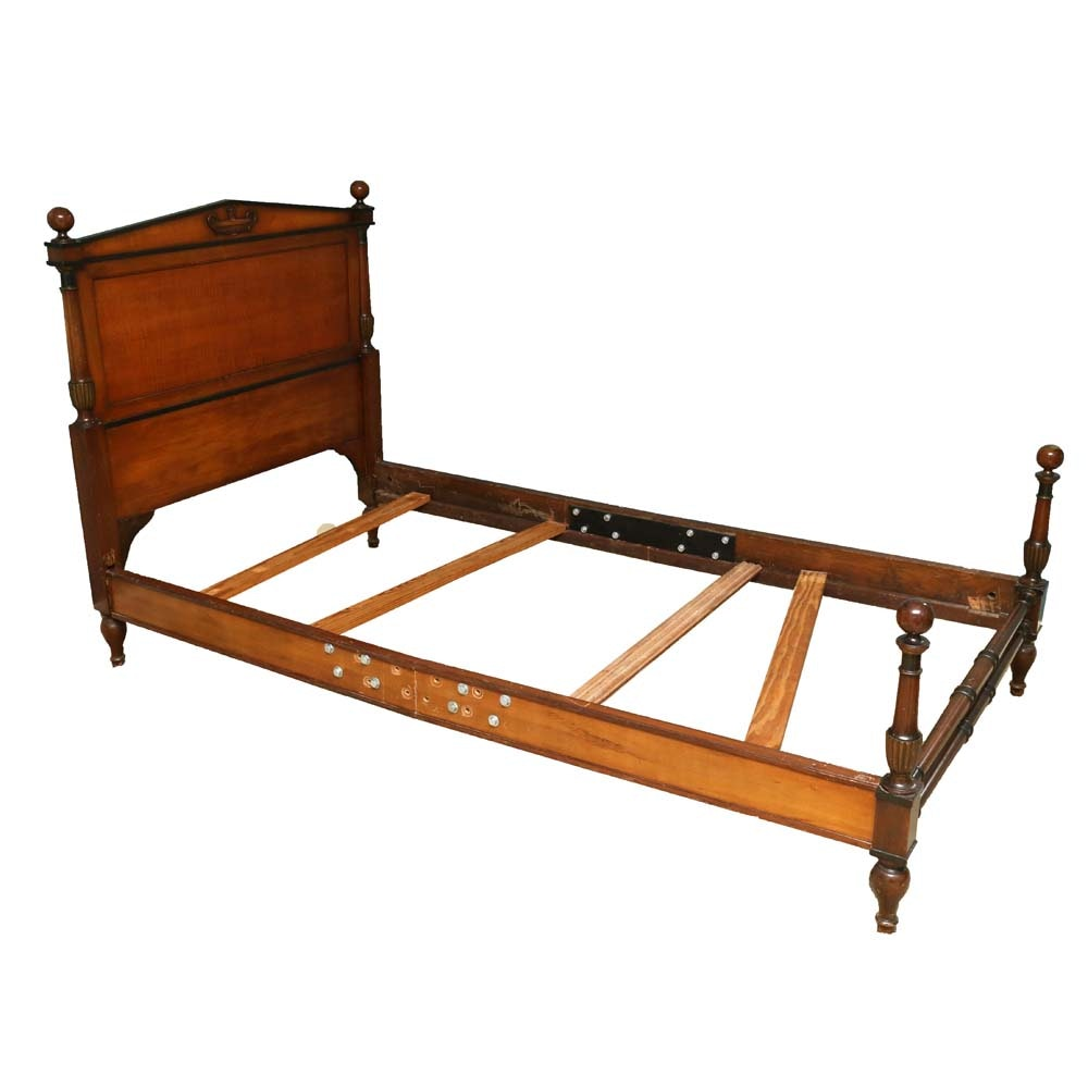 French Style Twin Bed Frame