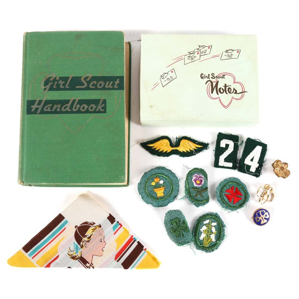 Vintage Girl Scout Memorabilia