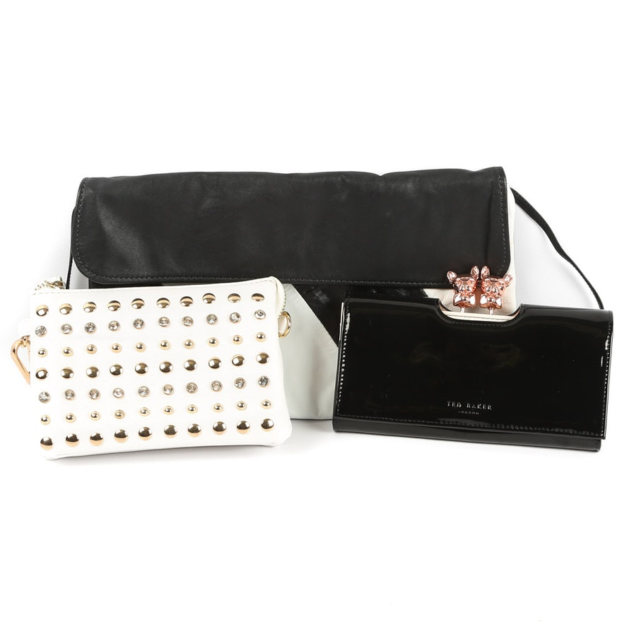 450aaa5eece1d3 Fashion Accessories featuring Ted Baker London French Bulldog Matinee  Clutch   EBTH