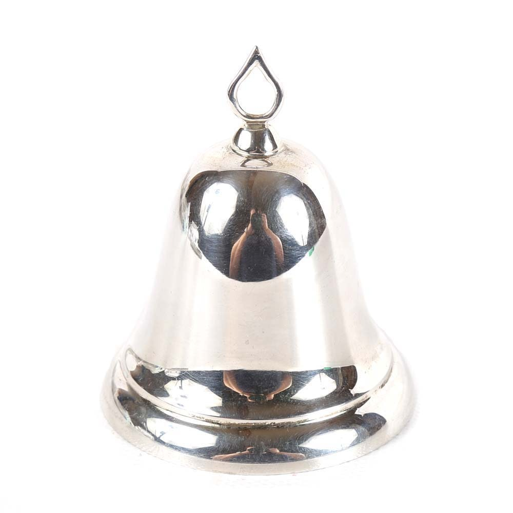Sterling Silver Christmas Bell by Reed & Barton