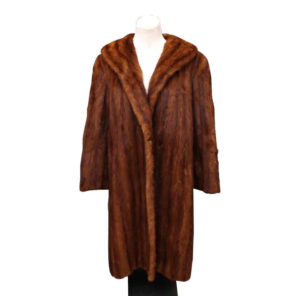 Pogue's Women's Mink Fur Coat