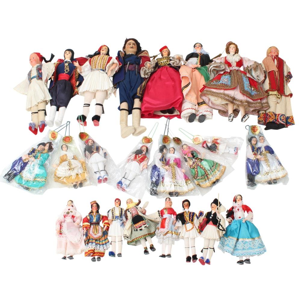 Selection of Greek Dolls