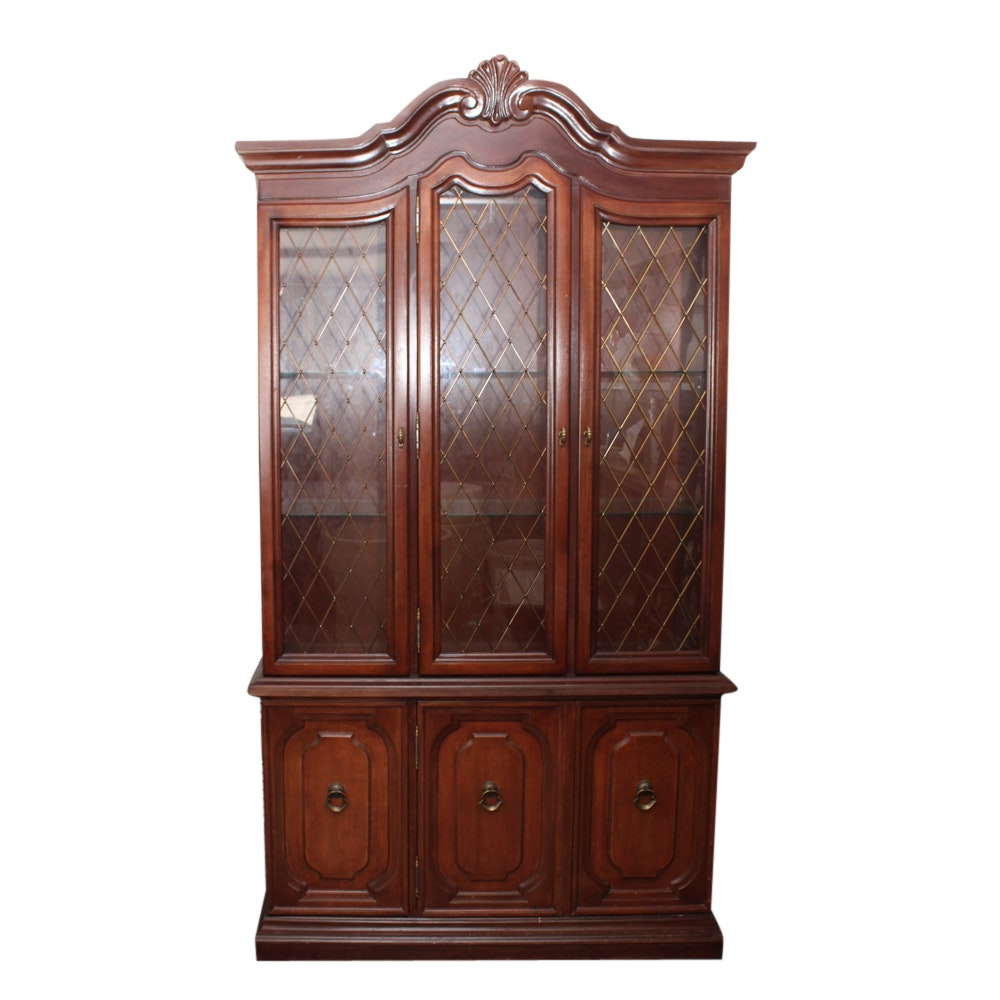 Queen Anne Style China Cabinet
