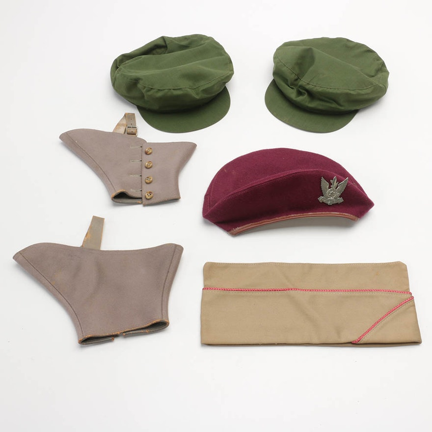 3e36866e70636 Men s Hats and Pair of Spats   EBTH