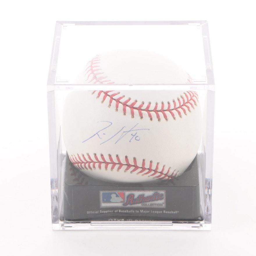 1bdeea8b5ed Rich Harden Autographed Baseball   EBTH