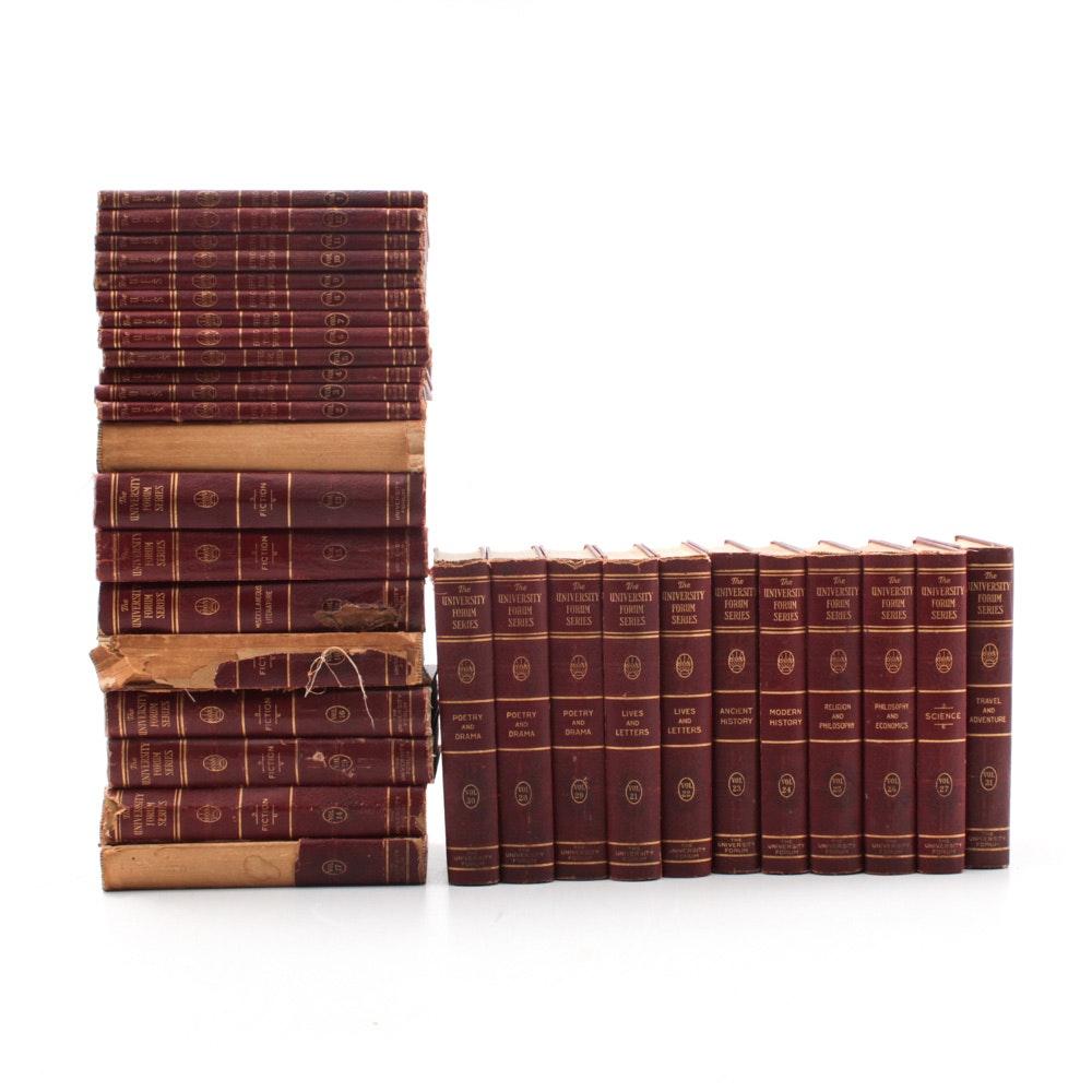 "Vintage ""University Forum Series"" Complete Book Set"