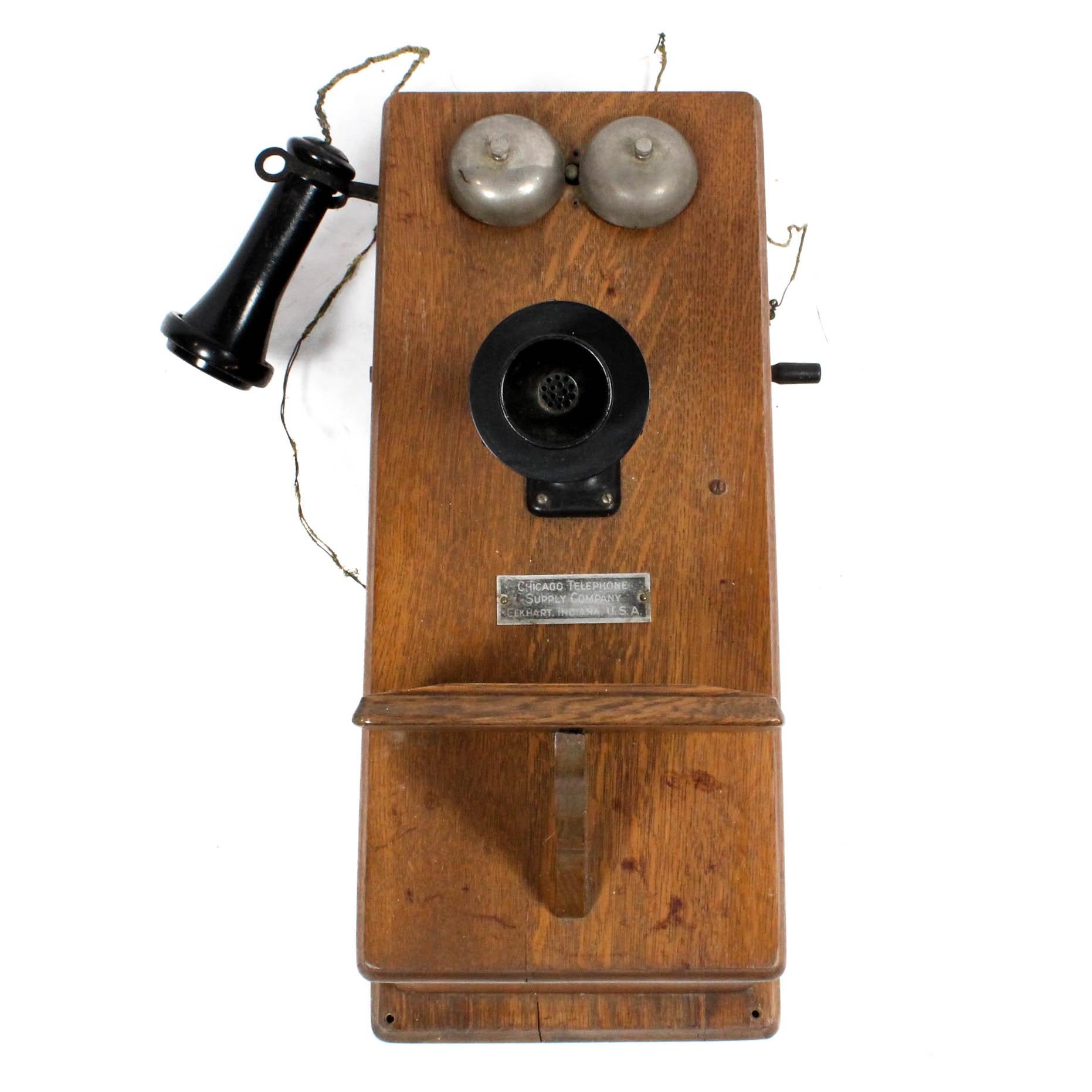 Vintage Chicago Telephone Supply Company Telephone