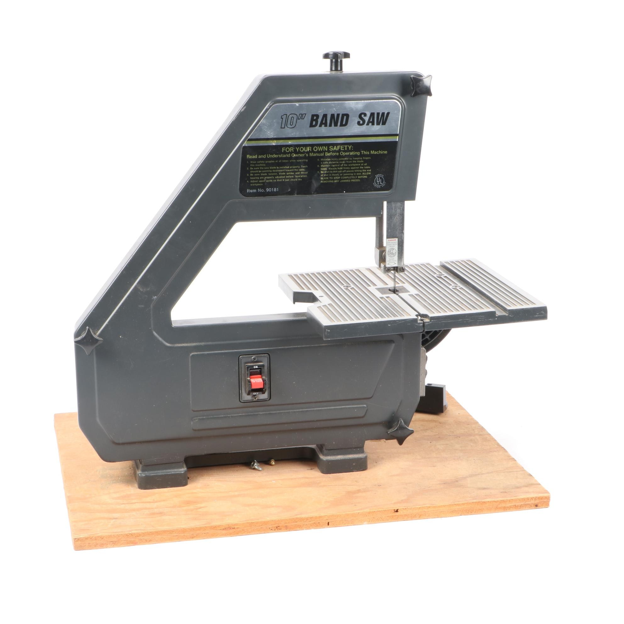 Ten Inch Band Saw