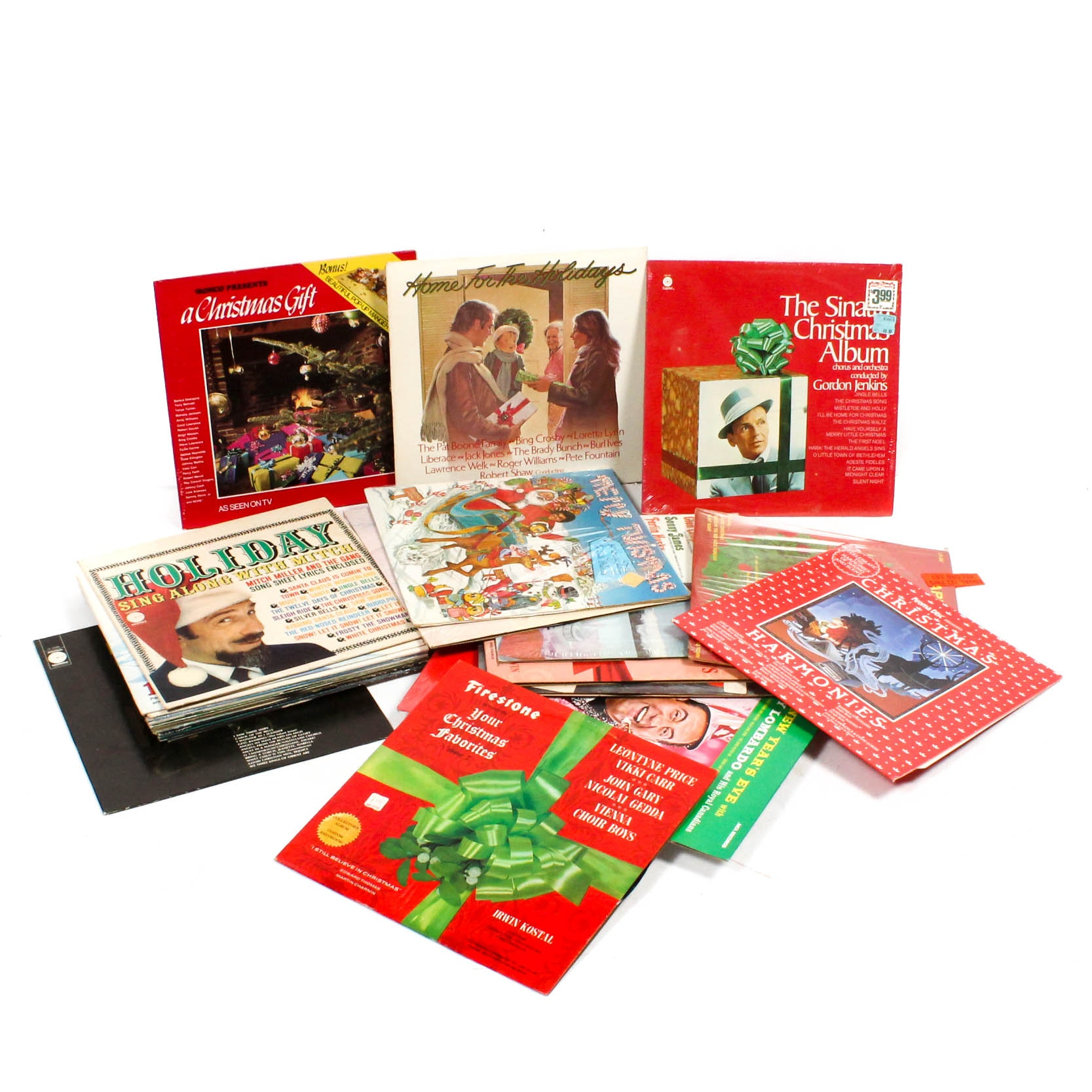 Vintage Christmas Record Albums