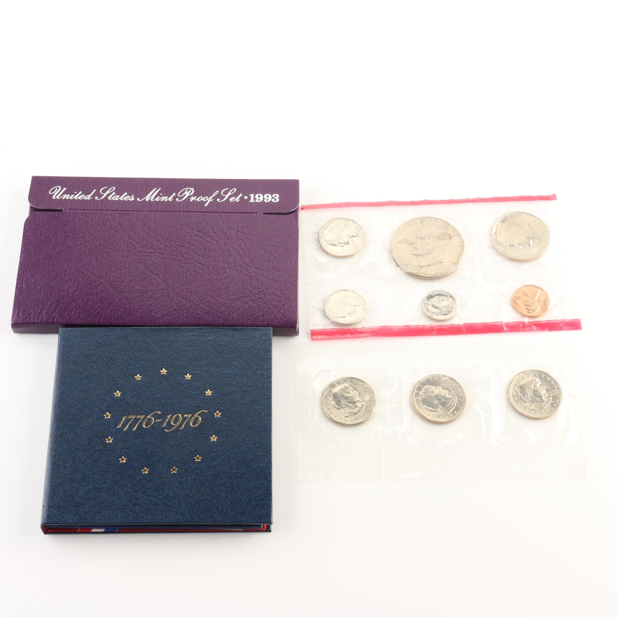 Collection of United States Mint Coin Sets