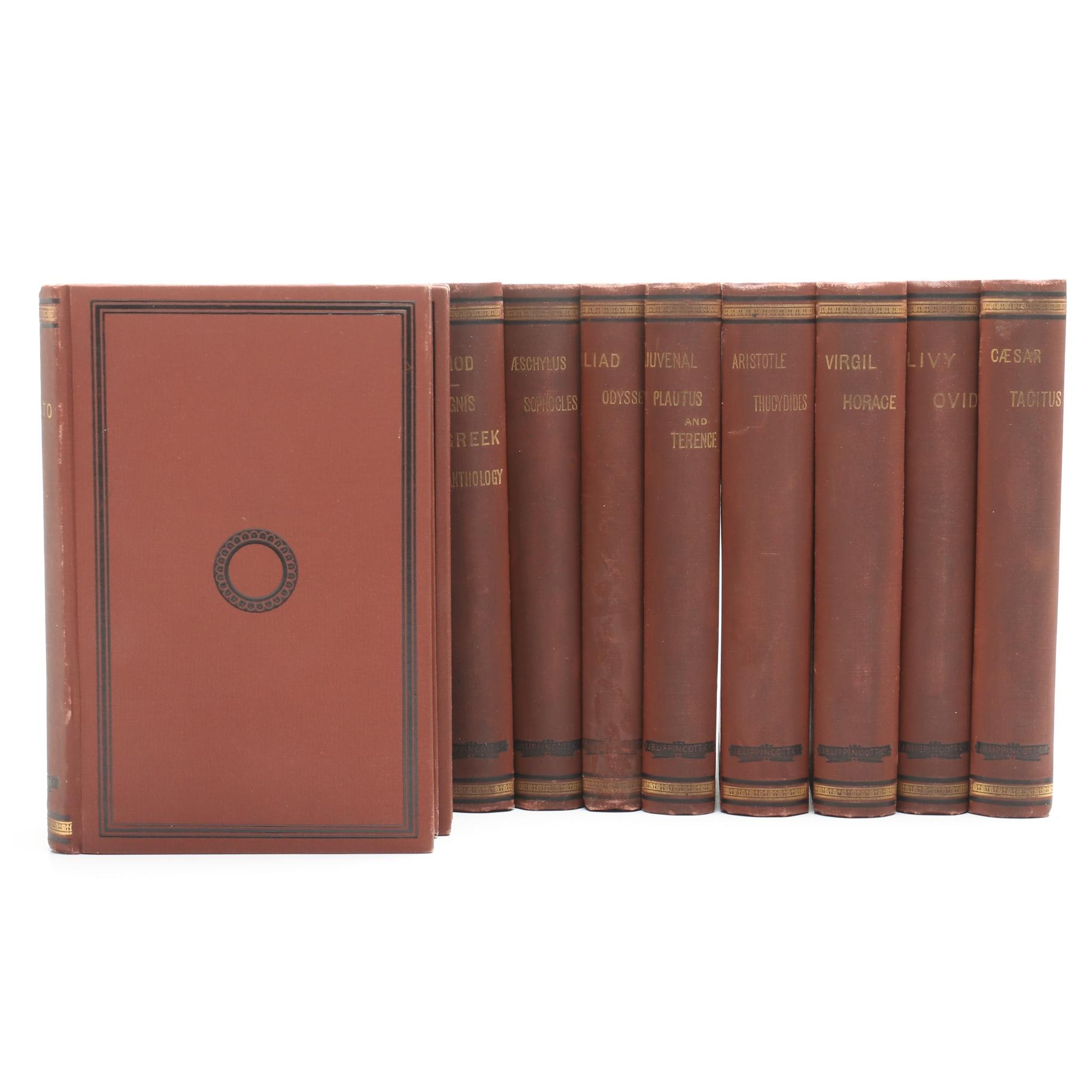 """Ancient Classics for English Readers"" Antique Fourteen Volume Set"