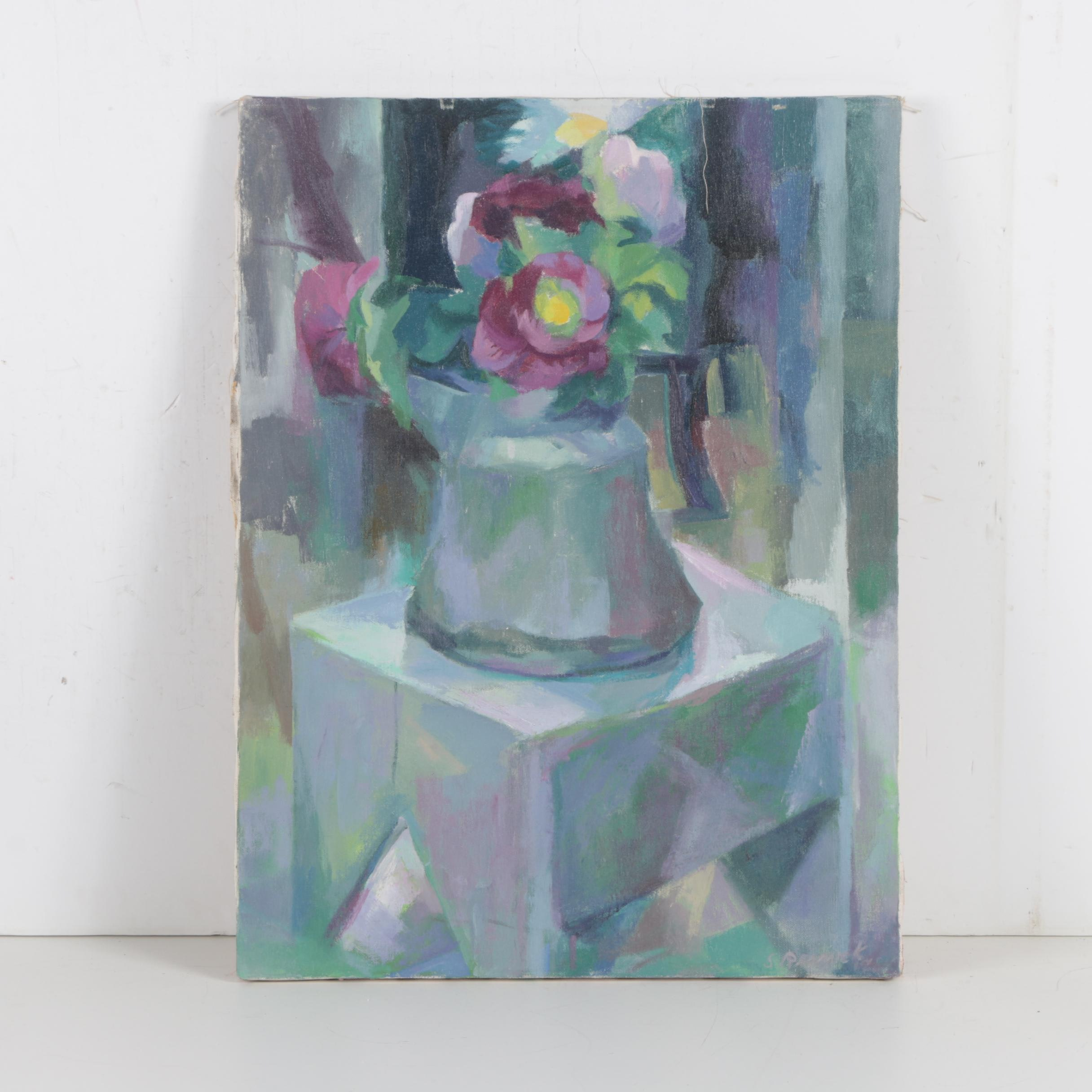 Shirley Resnick Oil Painting