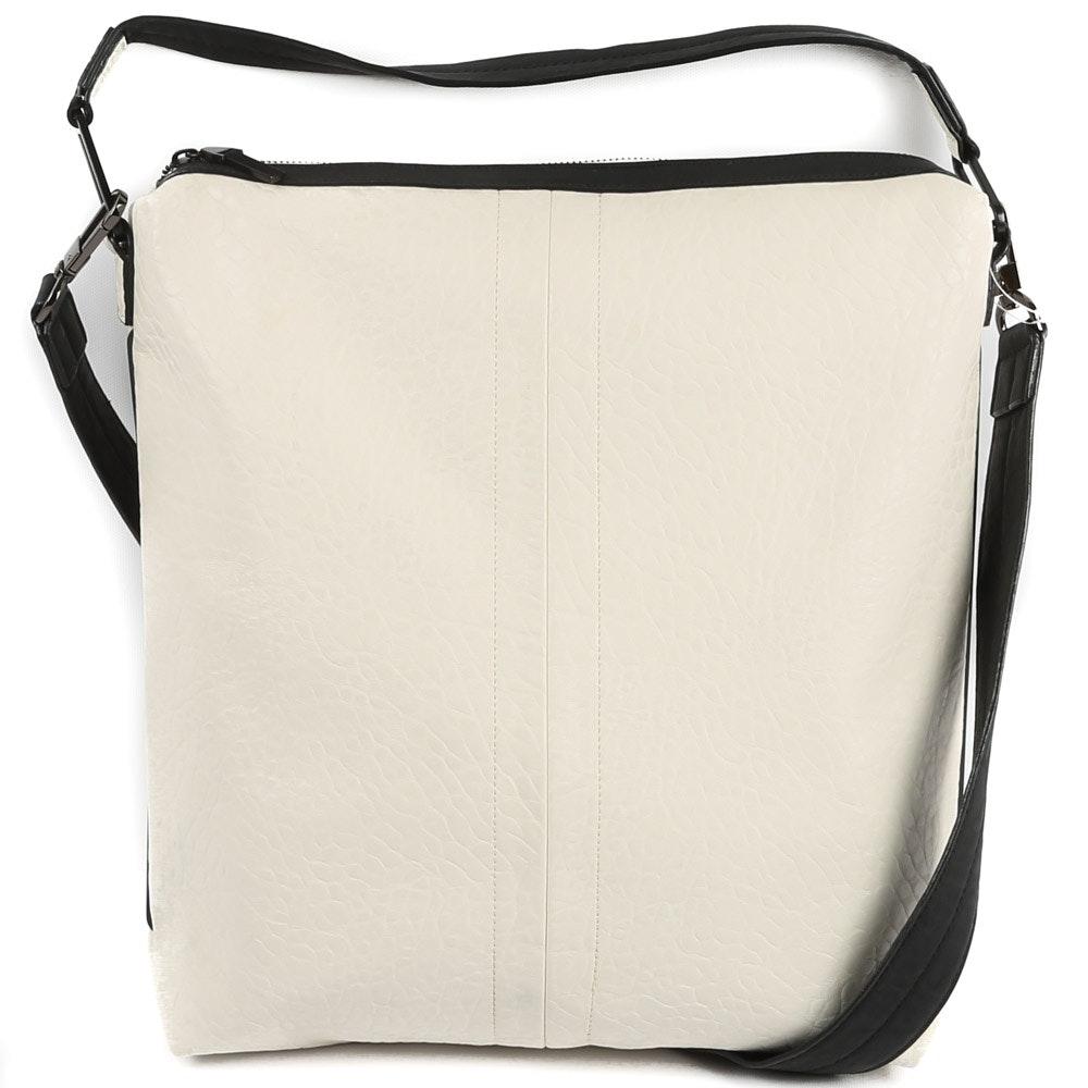 French Connection Vegan Leather Messenger Bag