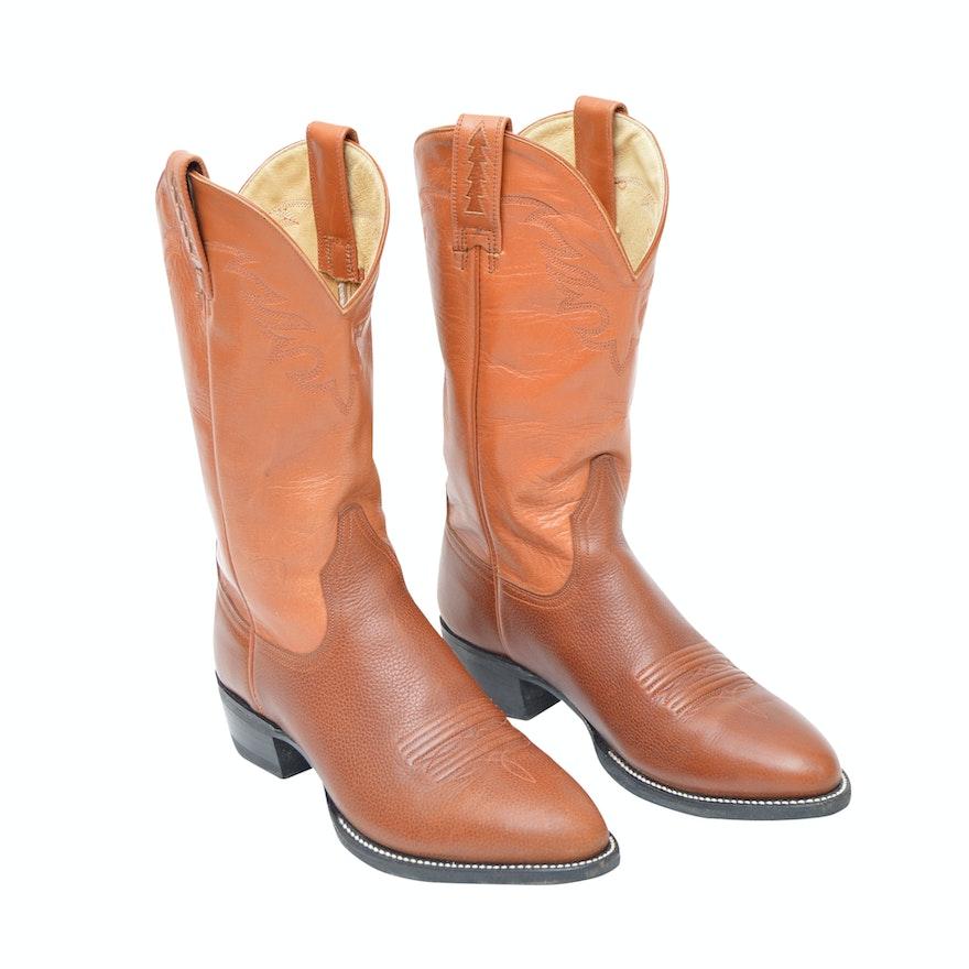 66ecc6c1dda Women s Ariat Brown Leather Western Boots   EBTH