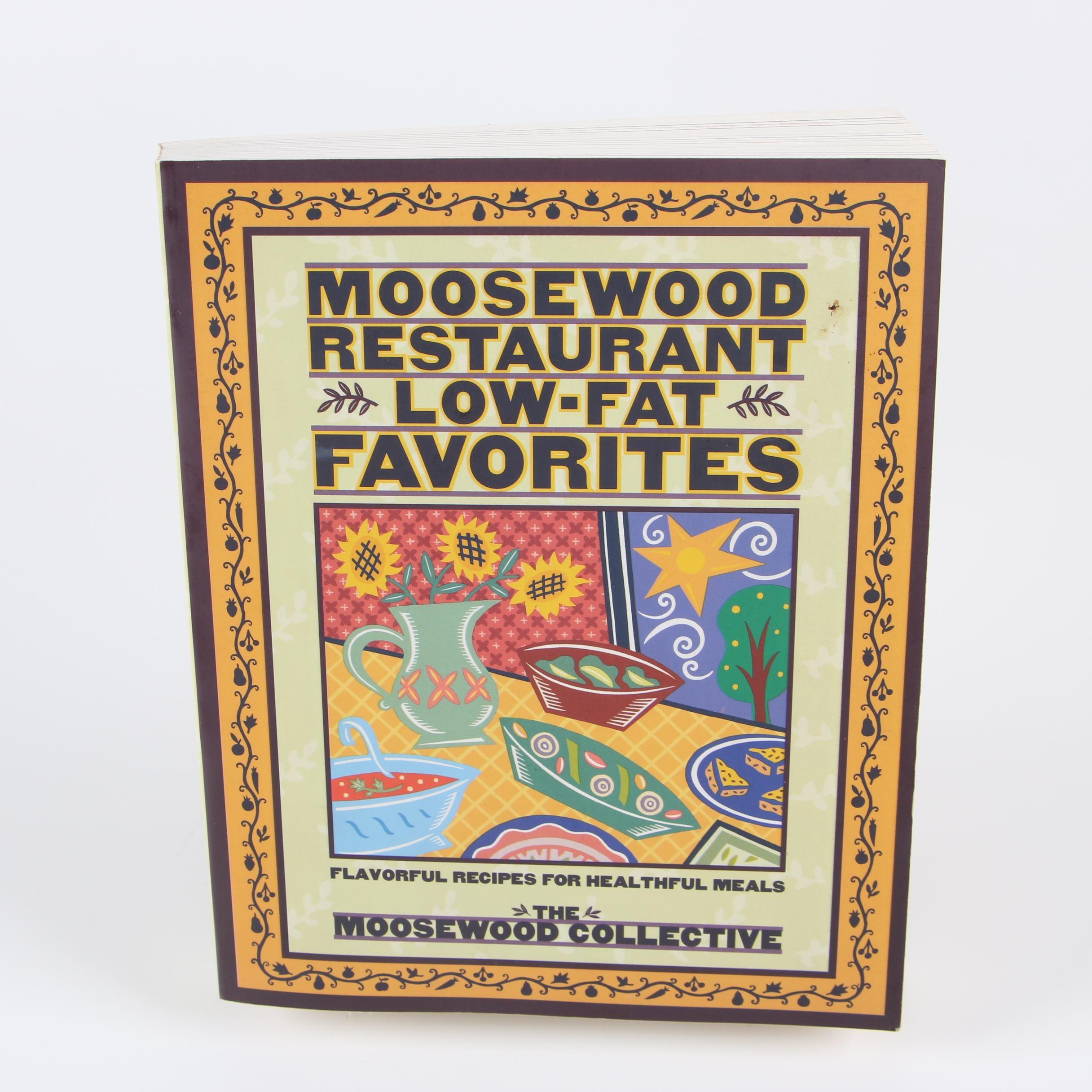 "1996 ""Moosewood Restaurant Low-Fat Favorites"" Cookbook"