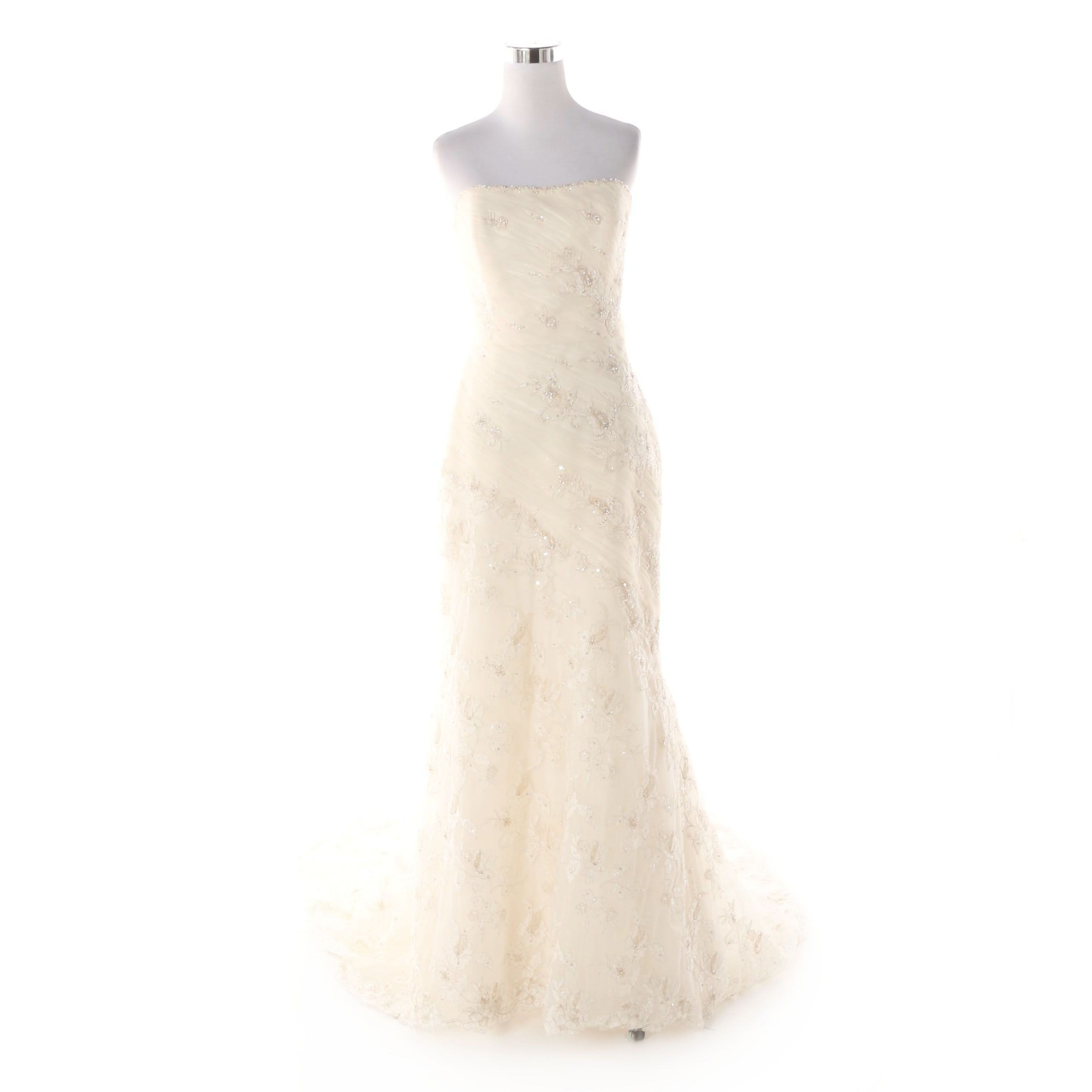 St. Patrick Strapless Denia Wedding Gown