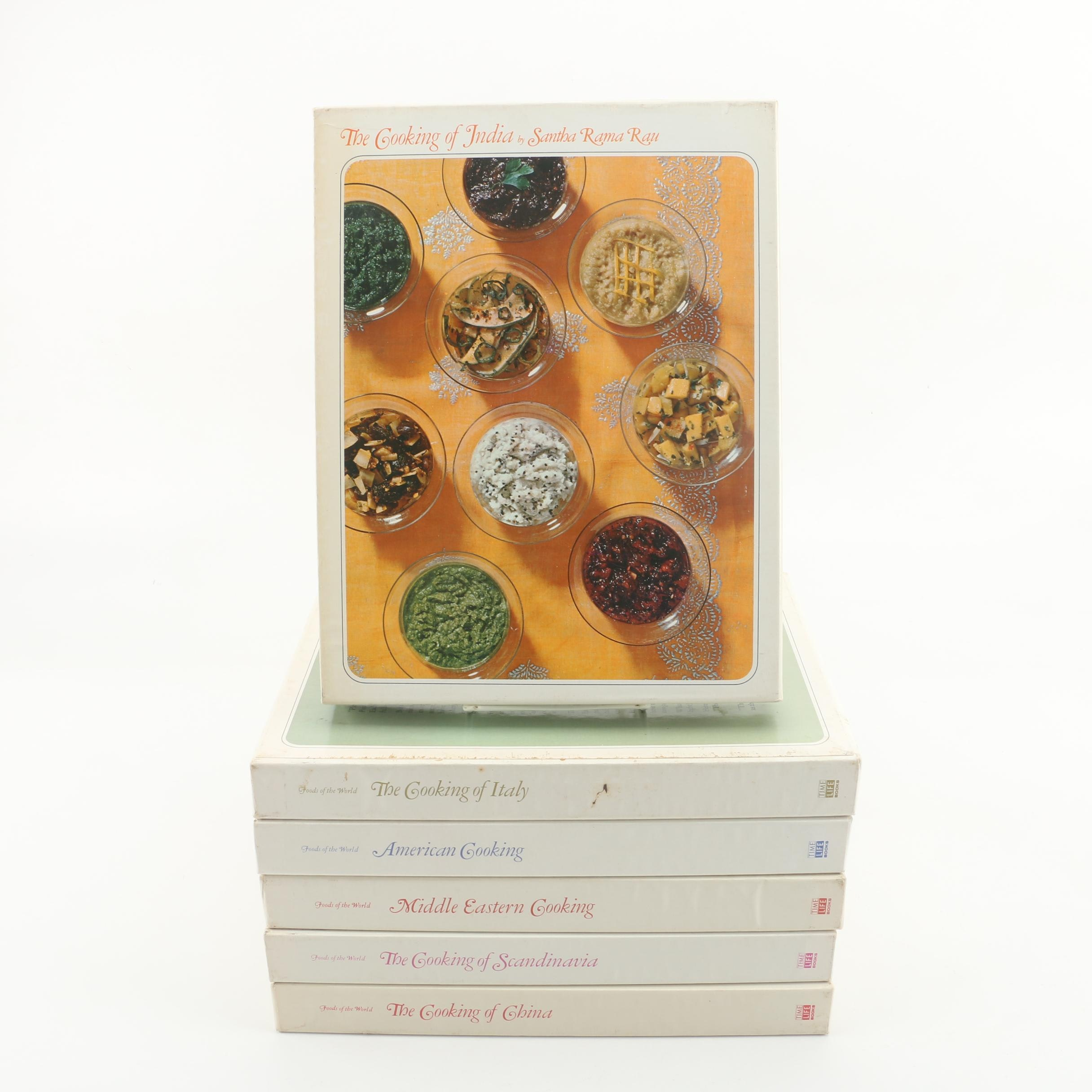 """Time Life """"Foods of the World"""" Series Volumes"""