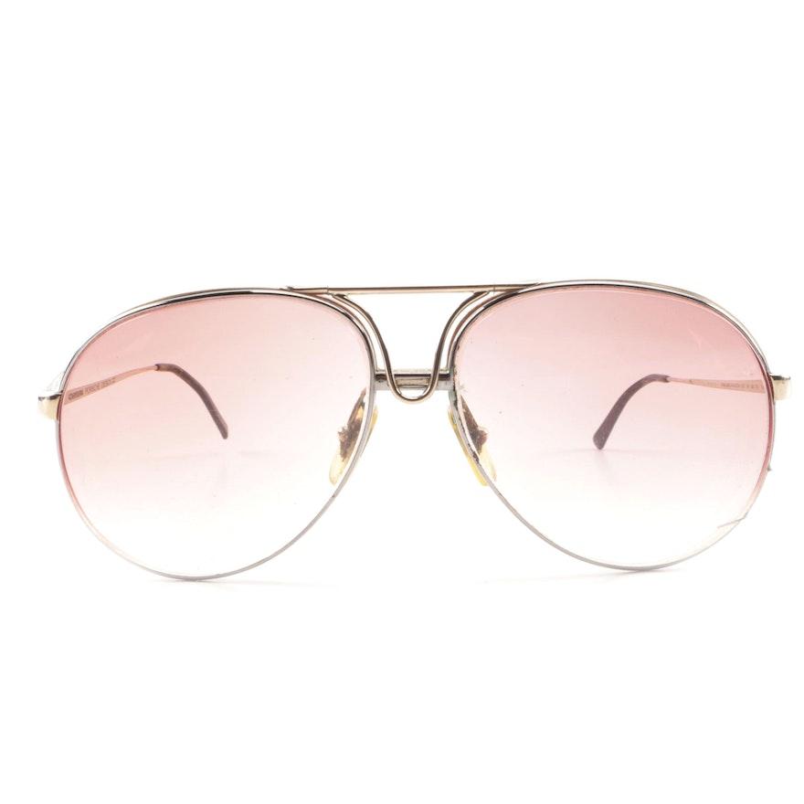7a47ec2de5a2 1980s Vintage Carrera Porsche Design Aviator Prescription Sunglasses   EBTH