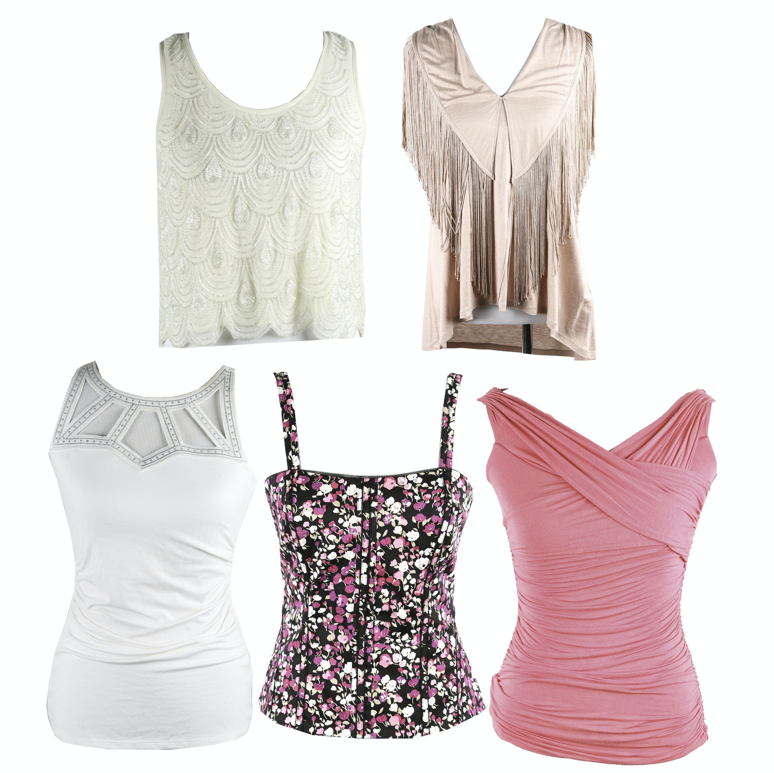 Collection of Women's Sleeveless Tops