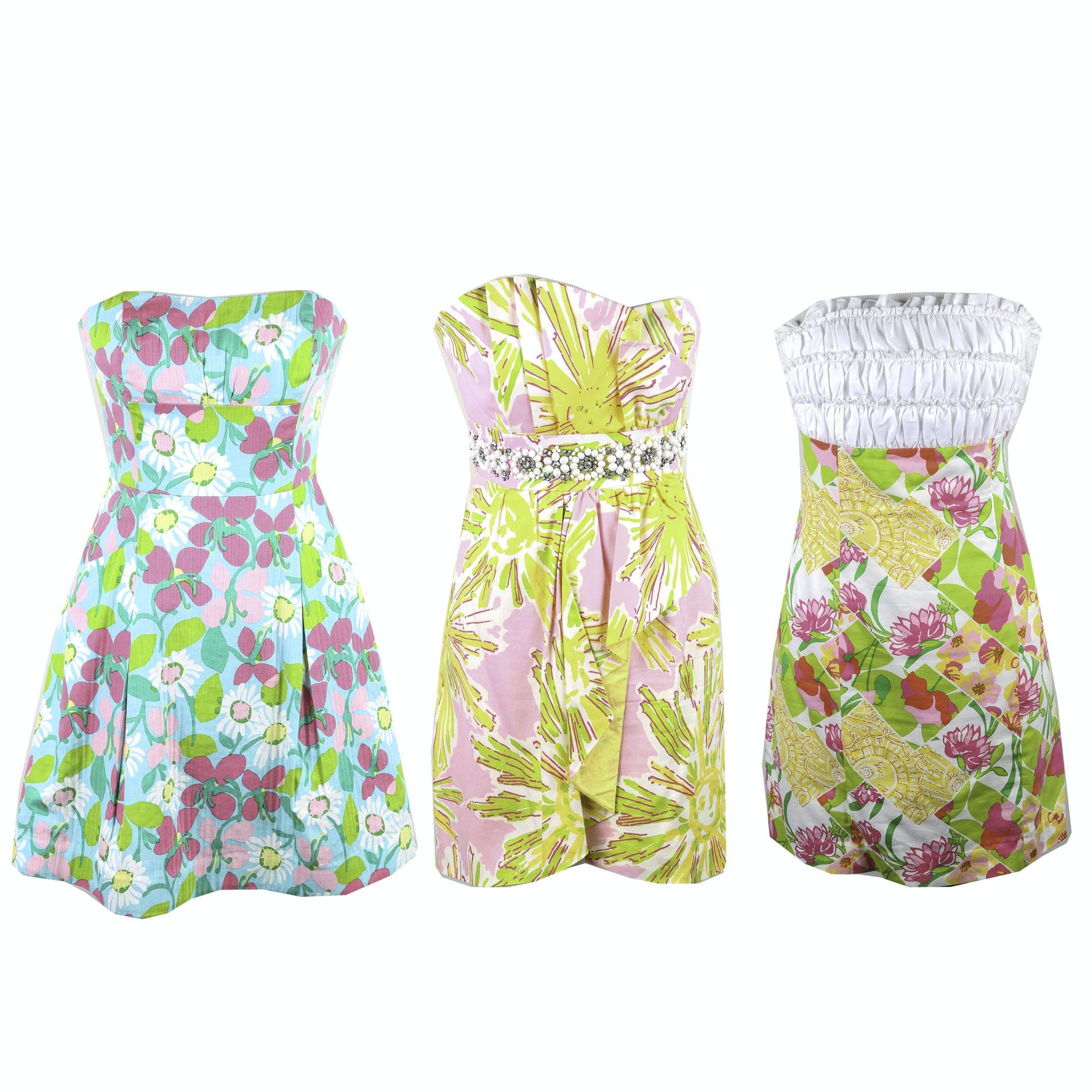 Lilly Pulitzer Strapless Party Dresses