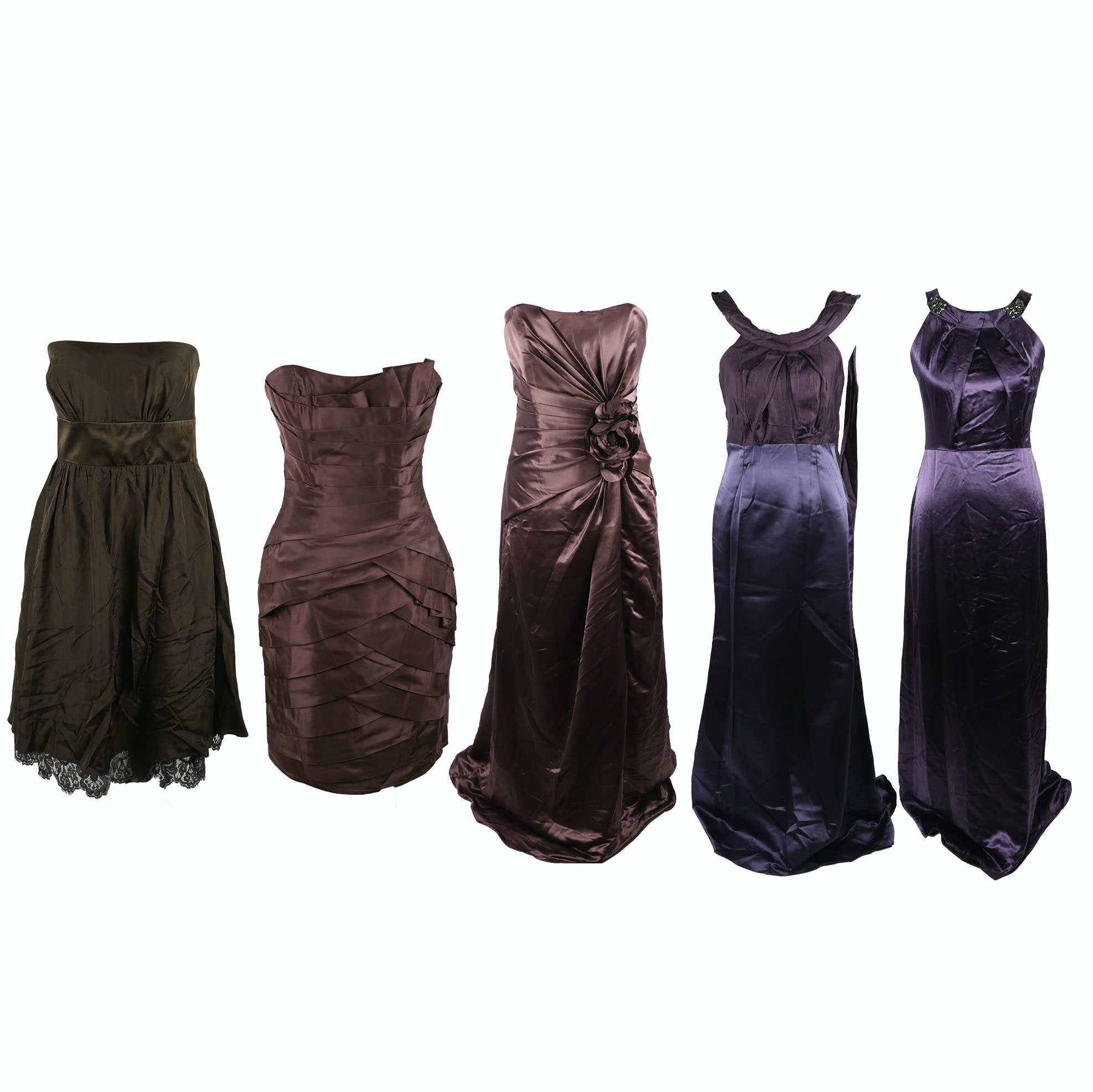 Designer Bridesmaids Dresses featuring Vera Wang