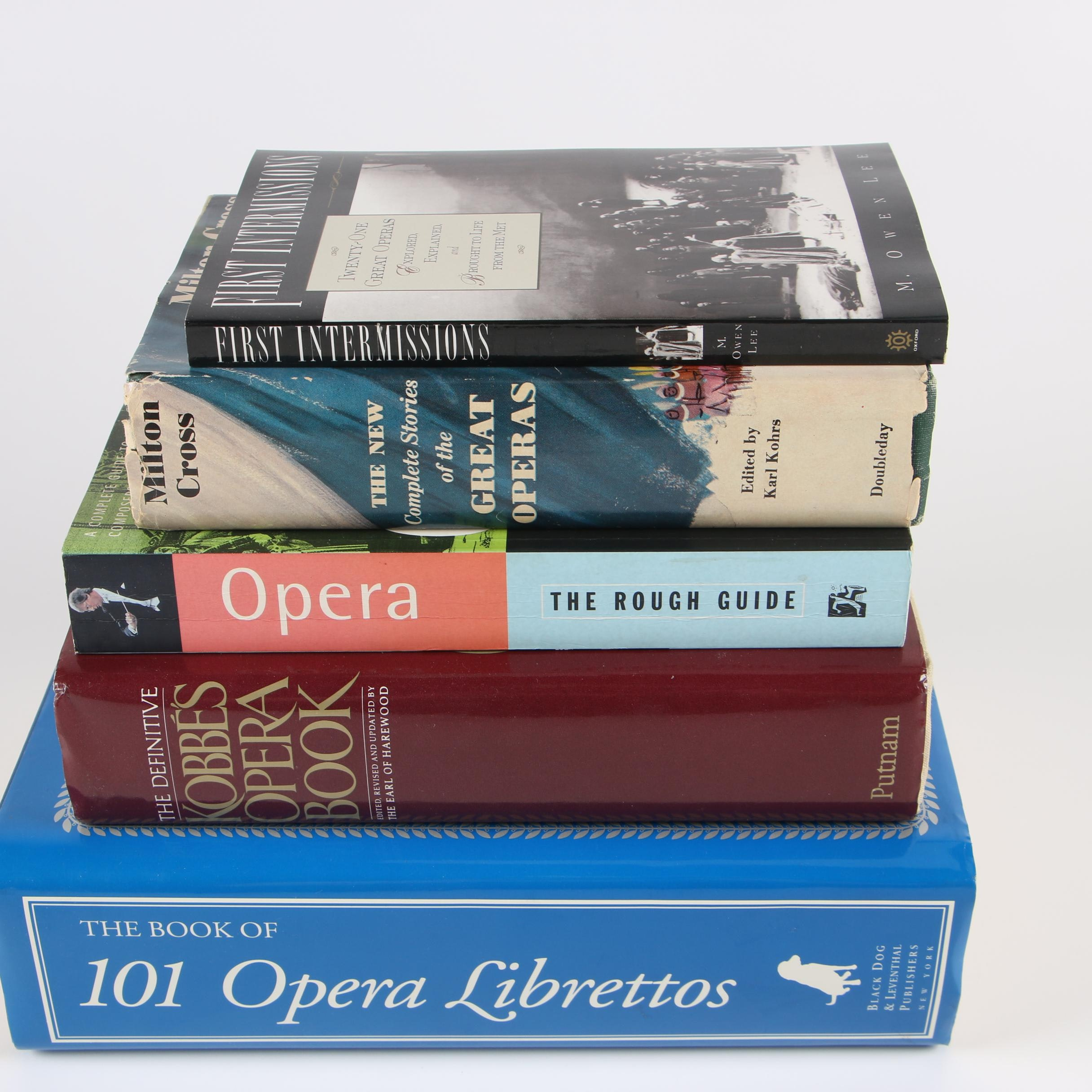 "1996 ""The Book of 101 Opera Librettos"" and Other Opera Books"