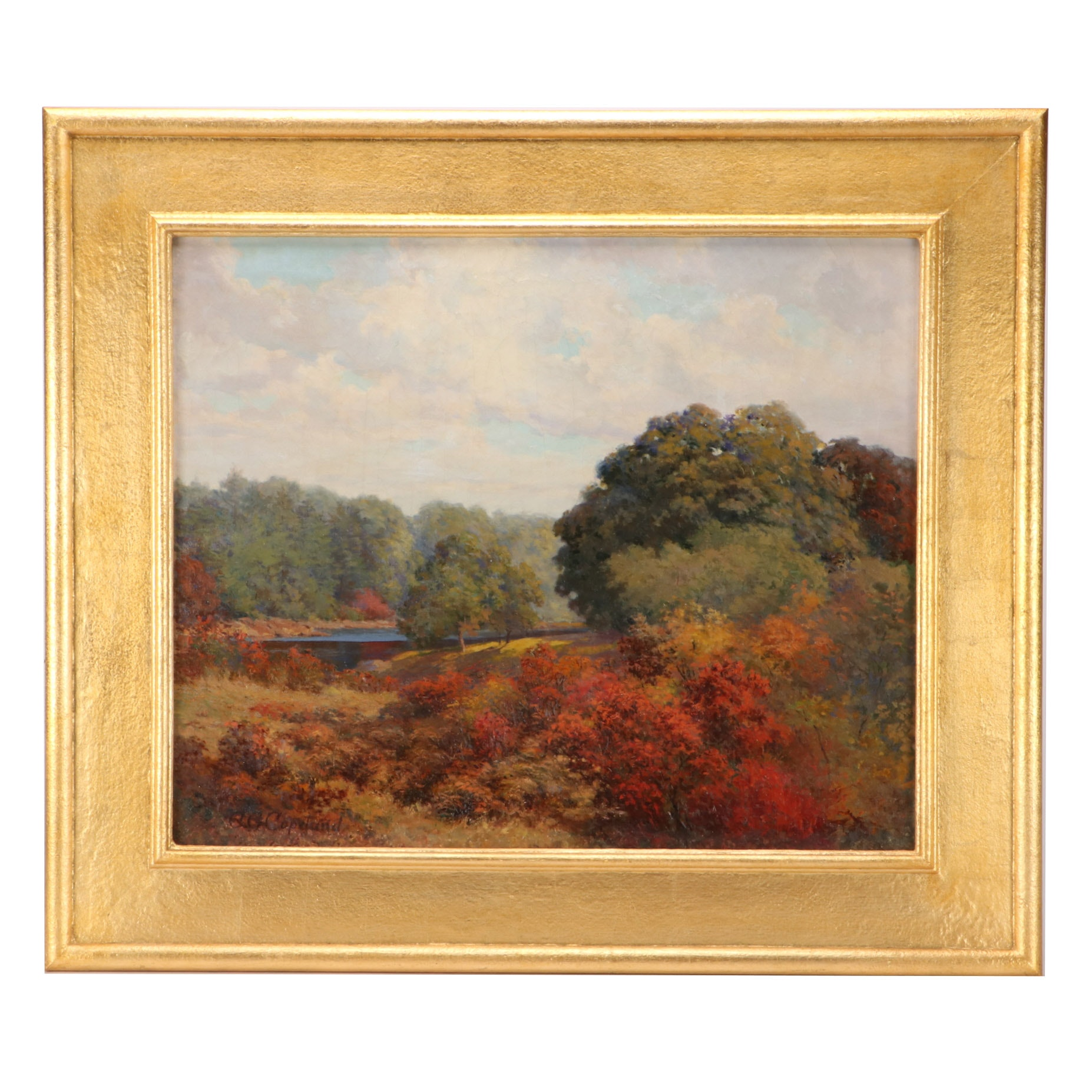 Charles George Copeland Landscape Oil Painting