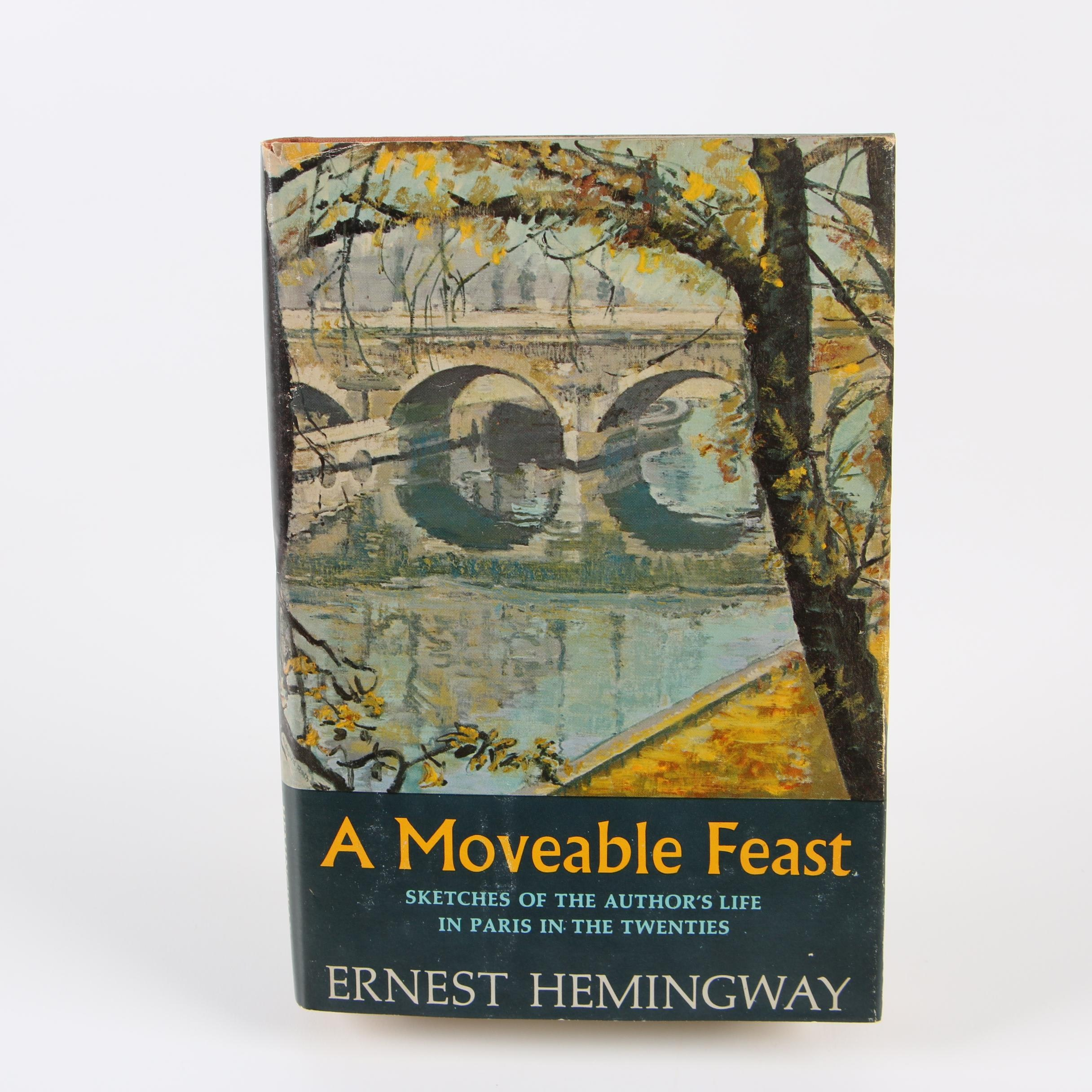 "1964 First Edition ""A Moveable Feast"" by Ernest Hemingway"