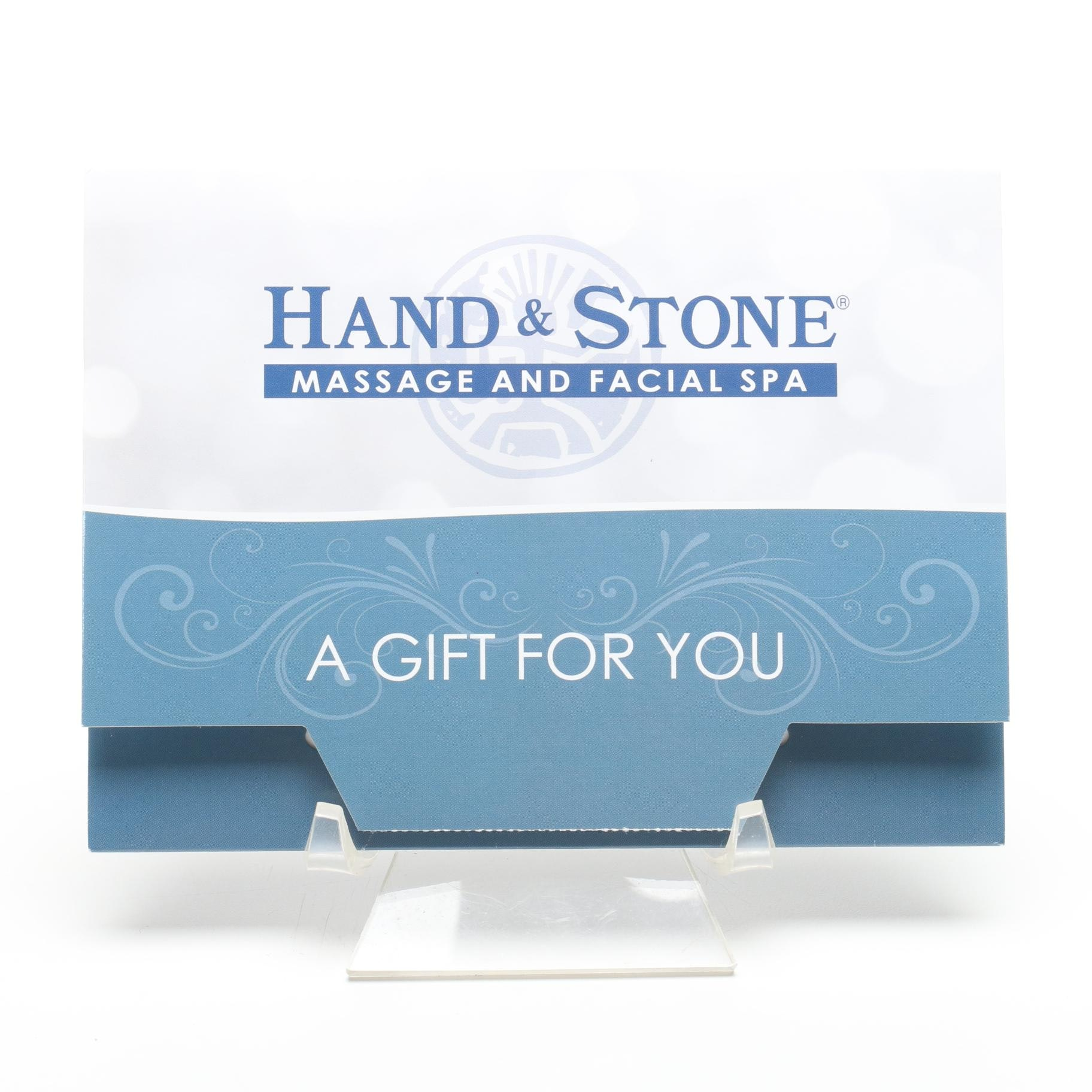Hand & Stone Massage and Facial Spa Gift Card