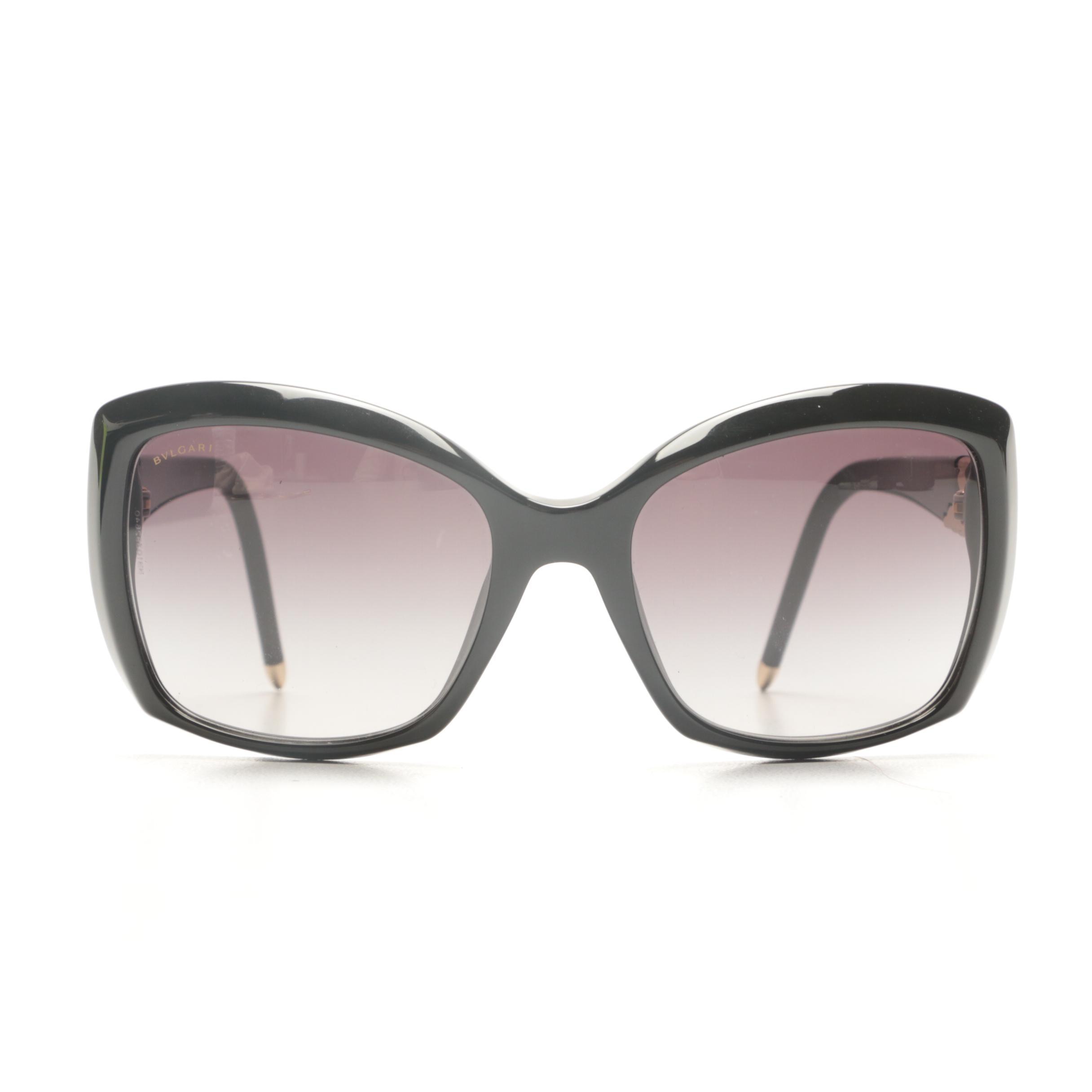 Bvlgari Serpenti Butterfly-Style Sunglasses