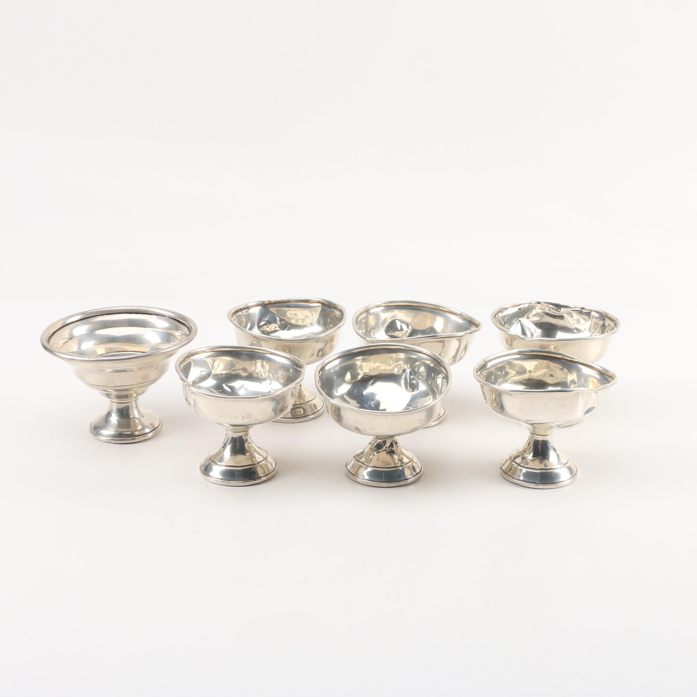 National Silver Co. Weighted Sterling Silver Ice Cream Bowls
