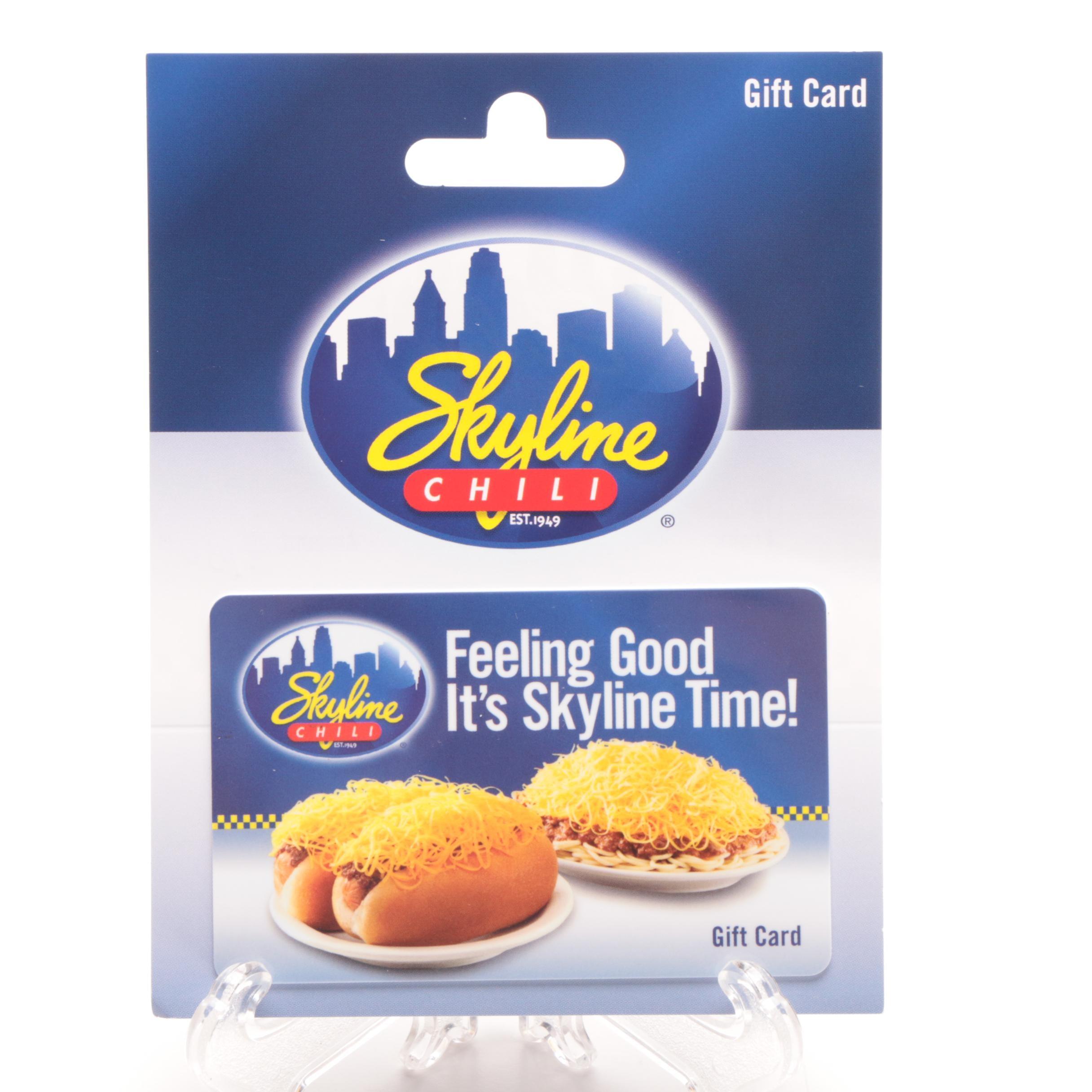 Skyline Chili Restaurants Gift Card