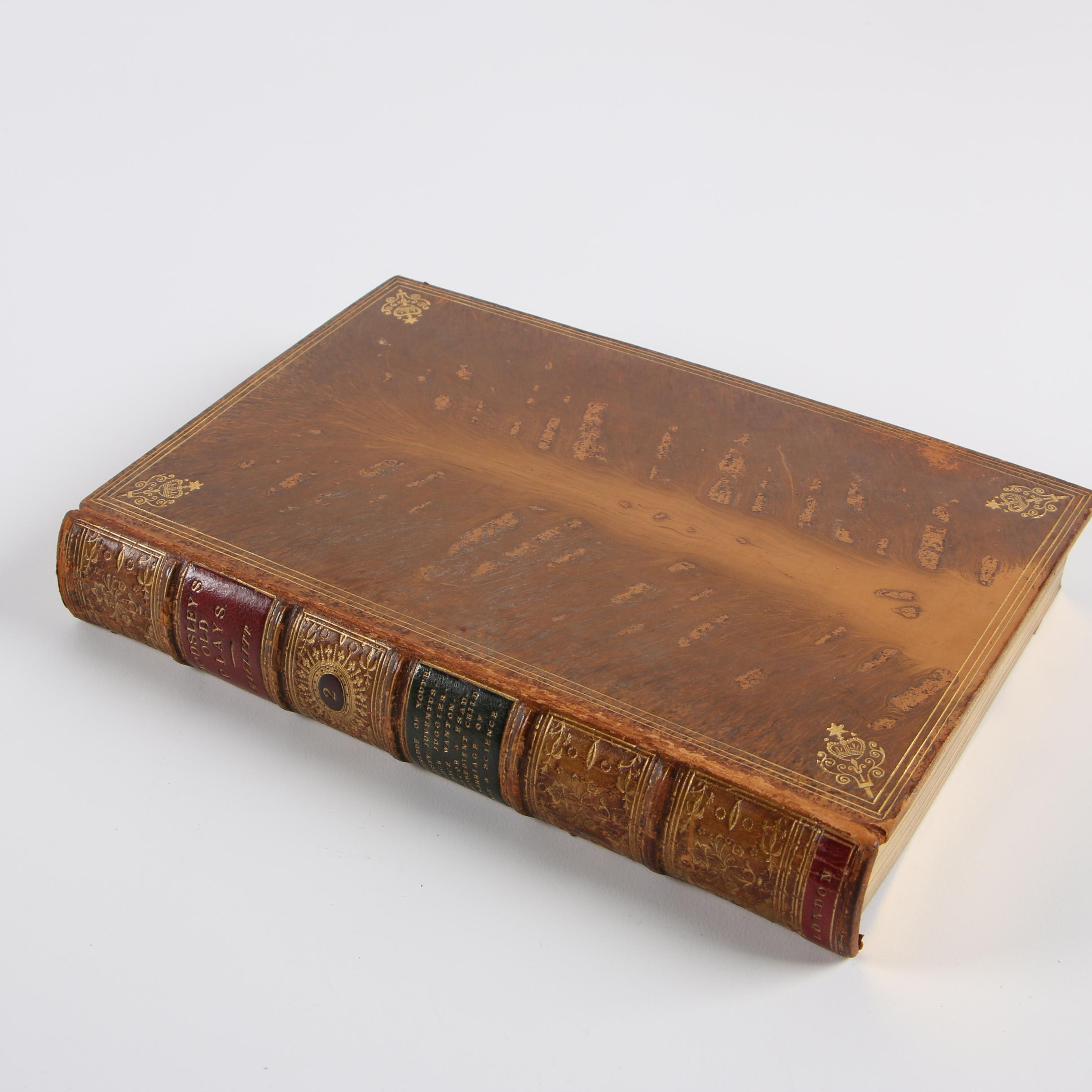 """1874 """"A Select Collection of Old English Plays"""" Volume II by W. Carew Hazlitt"""