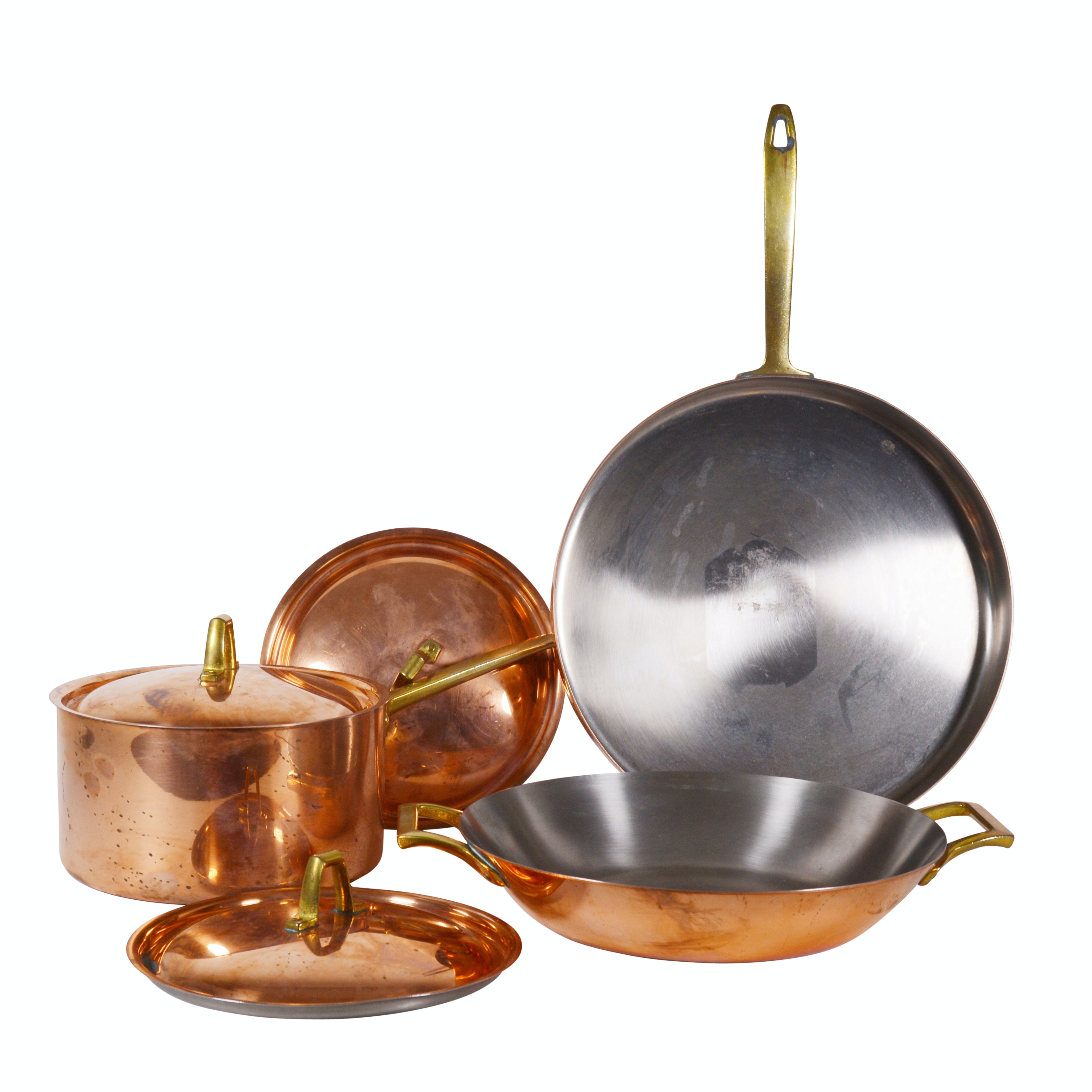 Paul Revere Limited Edition Copper and Brass Pans