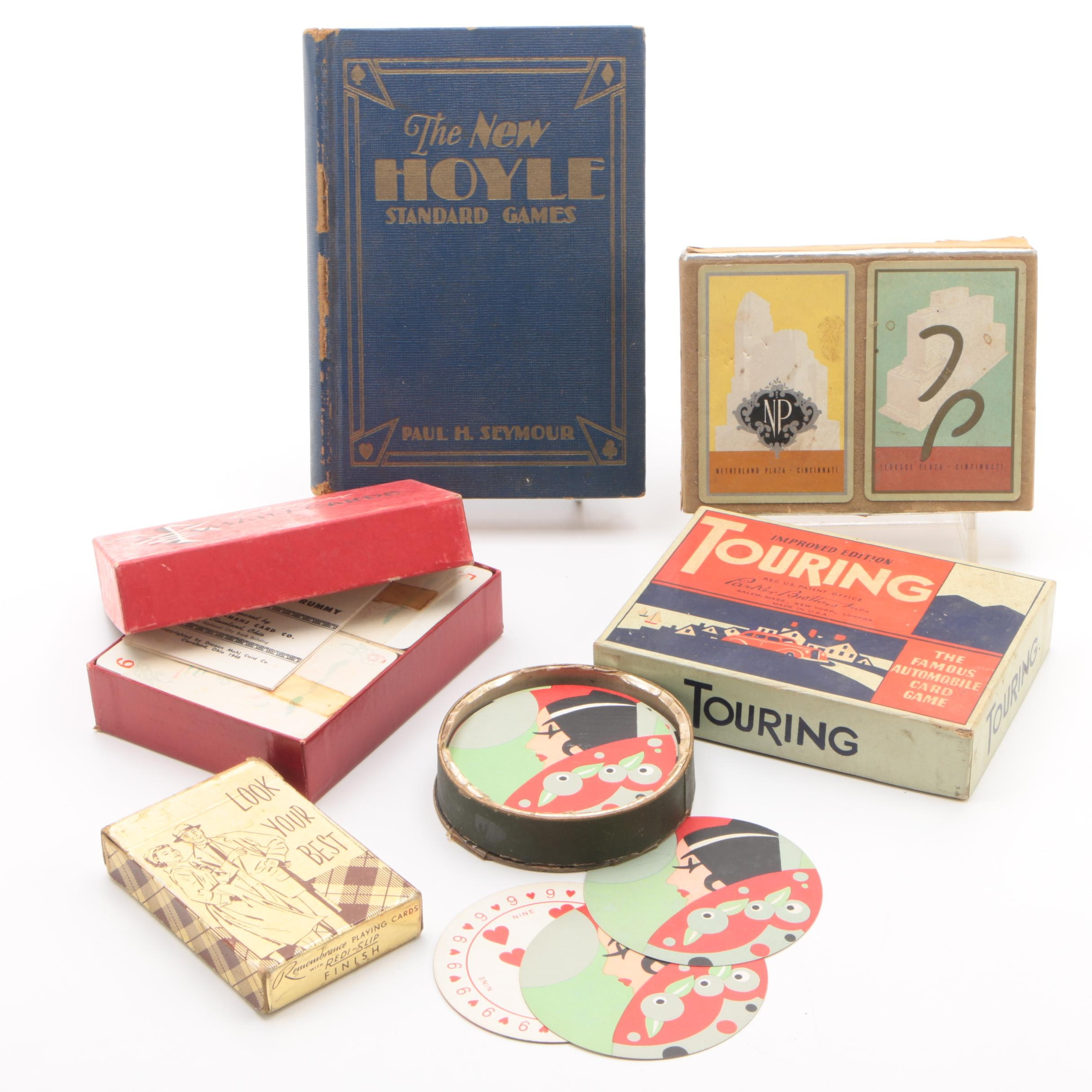 Art Deco Playing Cards and Games including The Netherland Plaza