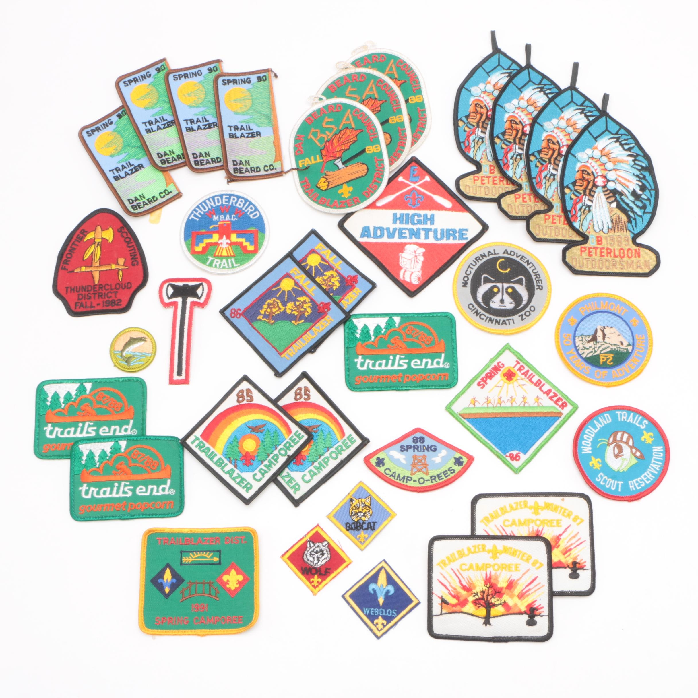Vintage Boy Scouts of America Patches