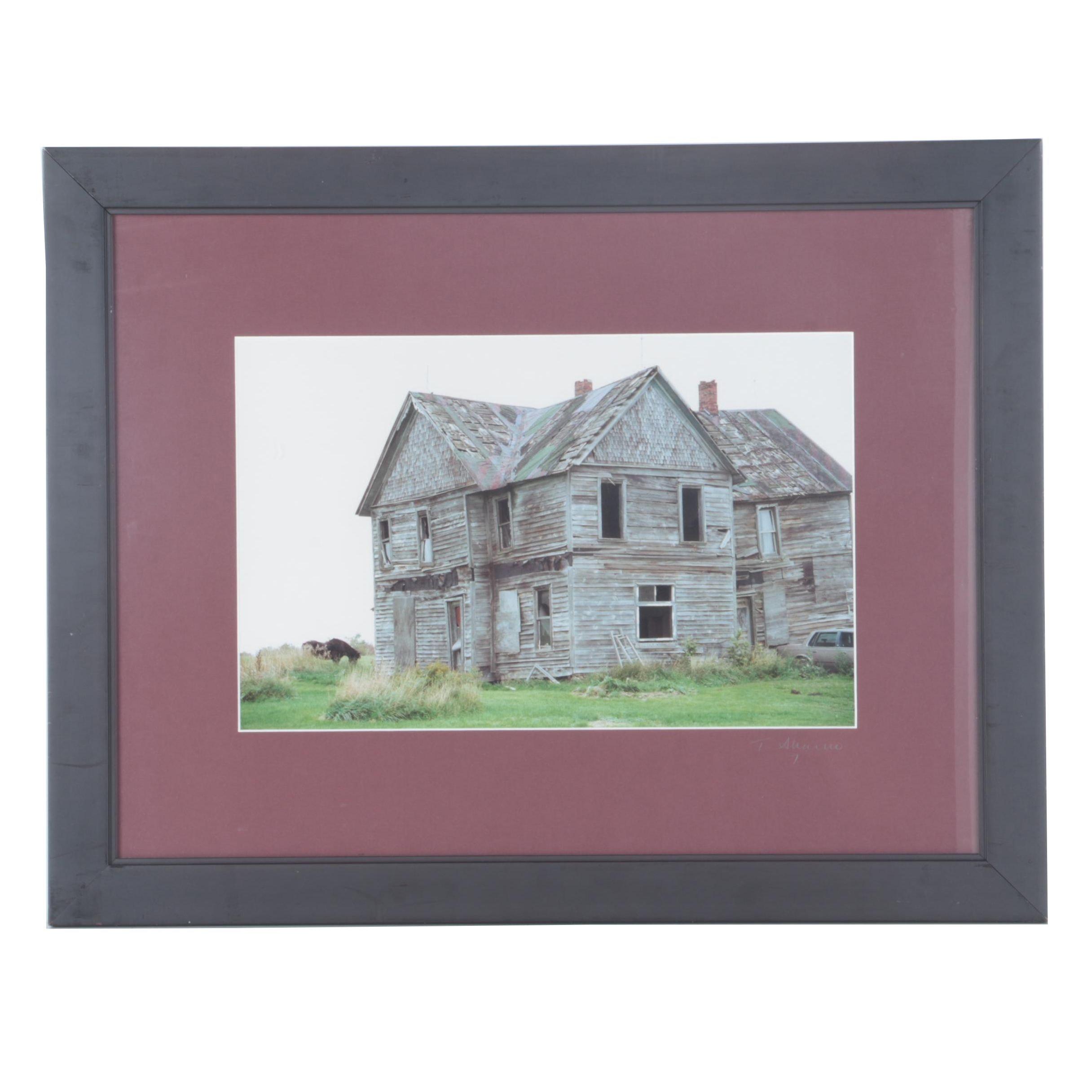 """Tony Shareno Color Photograph """"McAndrews Home"""""""