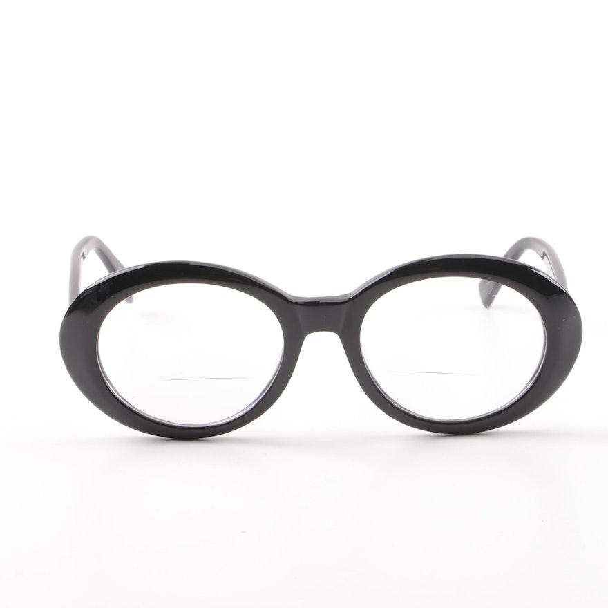 48888f4cf07 Eyebobs Clearly Iris Black Prescription Eyeglasses   EBTH