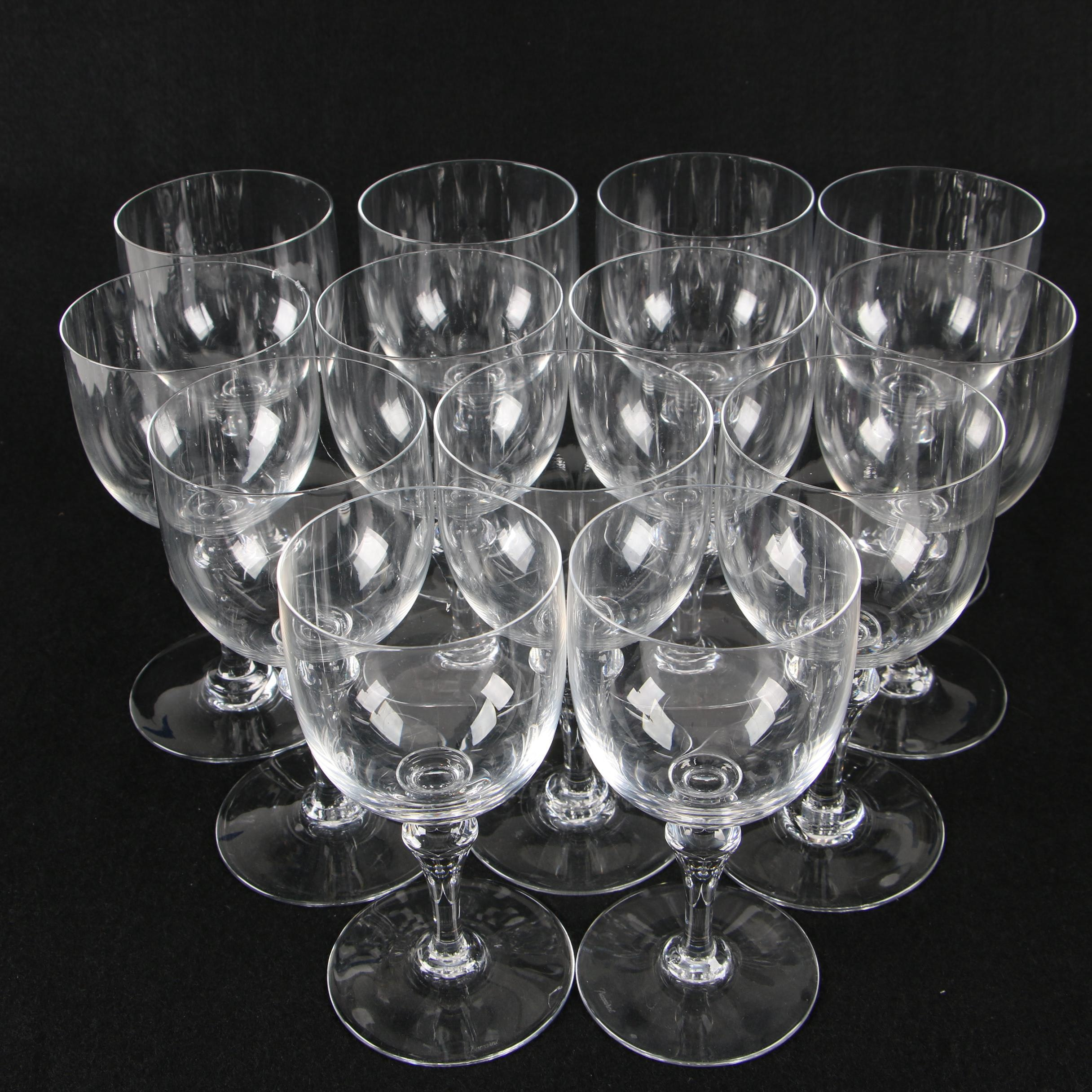 Baccarat Crystal Water Goblets
