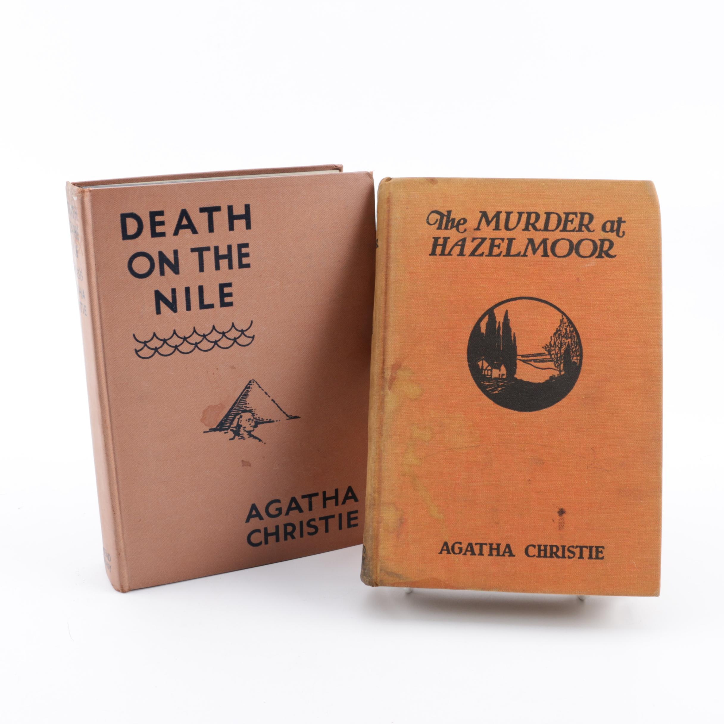 "First American Edition Agatha Christie Novels including ""Death on the Nile"""