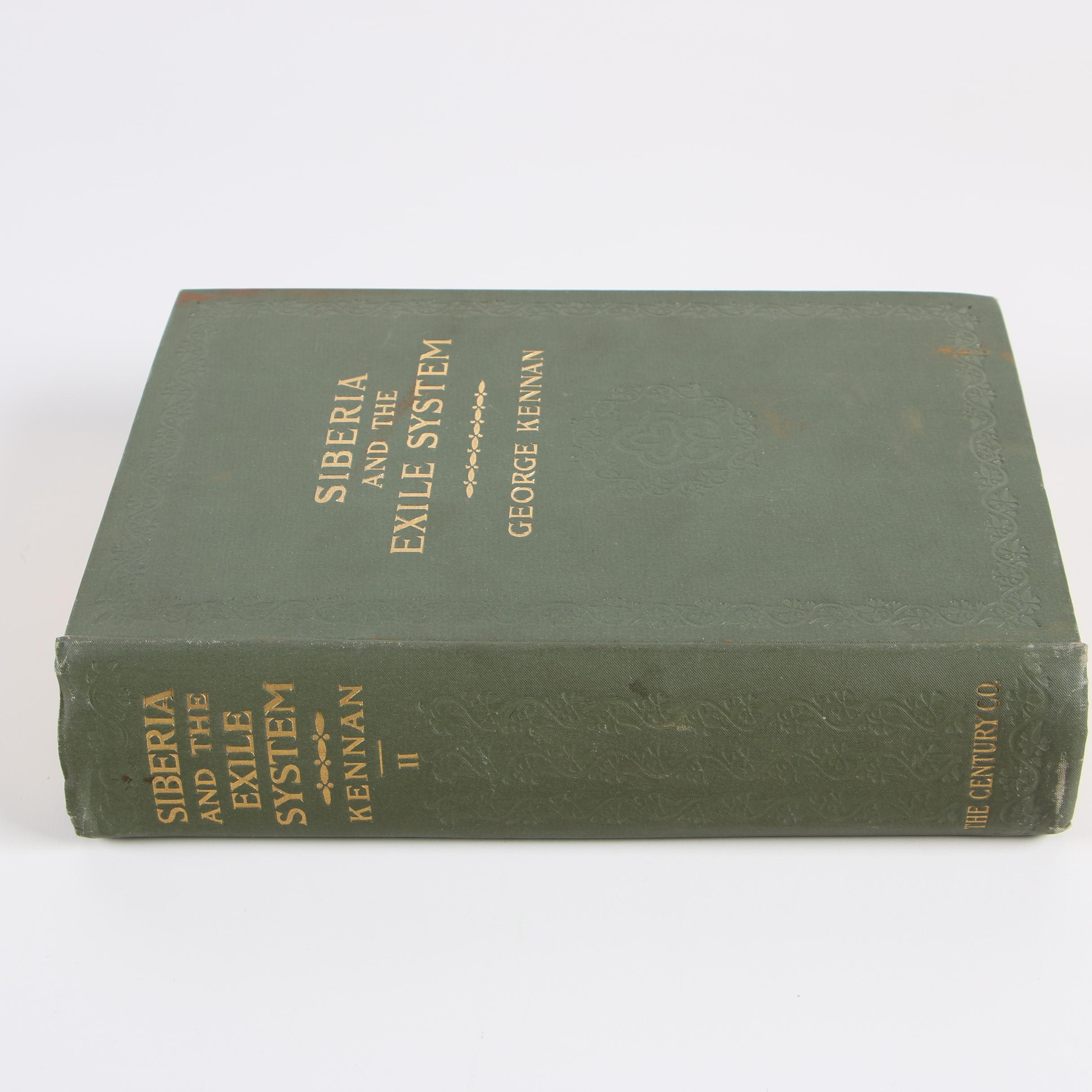 "1891 ""Siberia and the Exile System"" Volume Two by George Kennan"