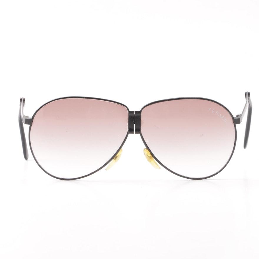 f68a80016c Vintage Ferarri Foldable Aviator Sunglasses   EBTH