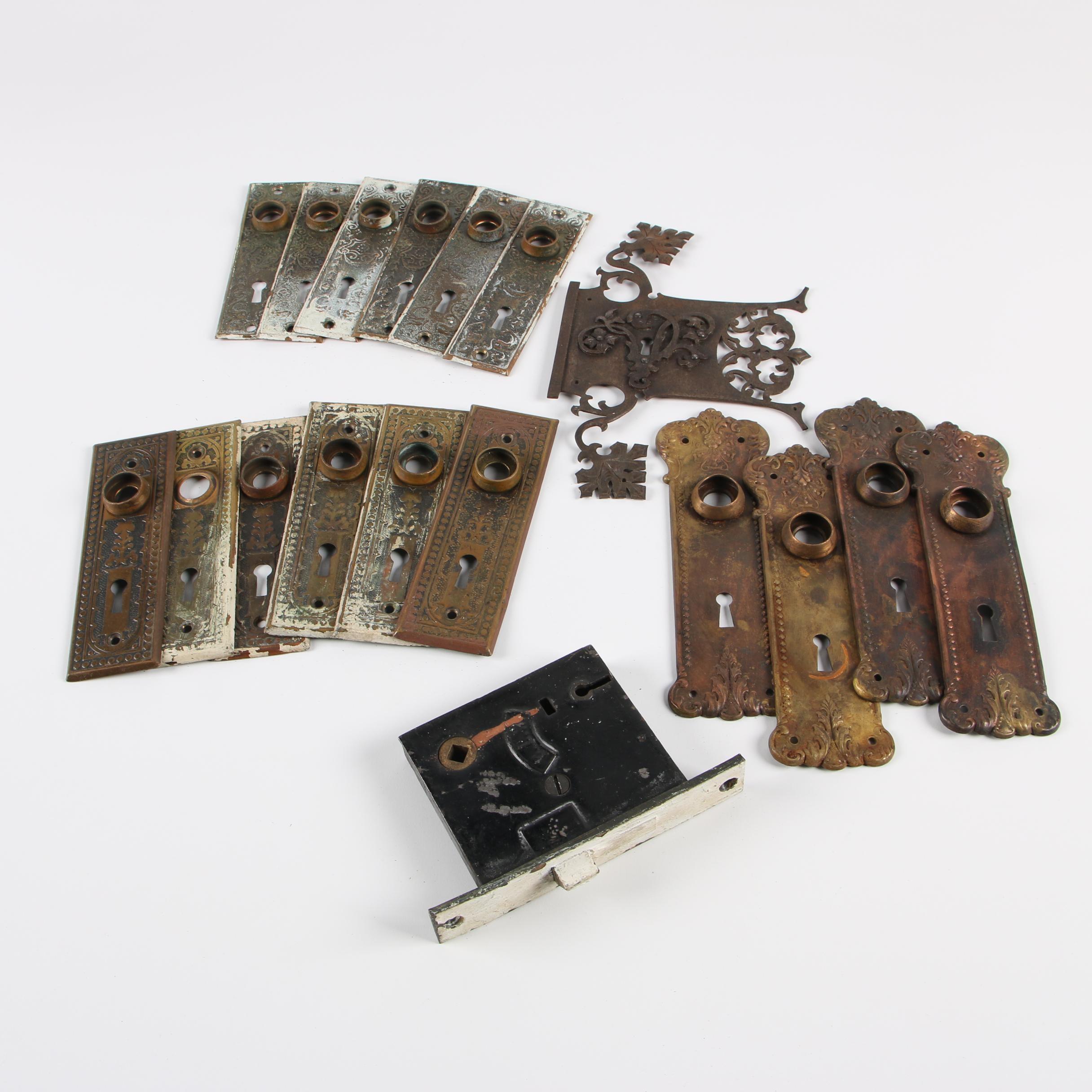 Vintage Metal Door Hardware